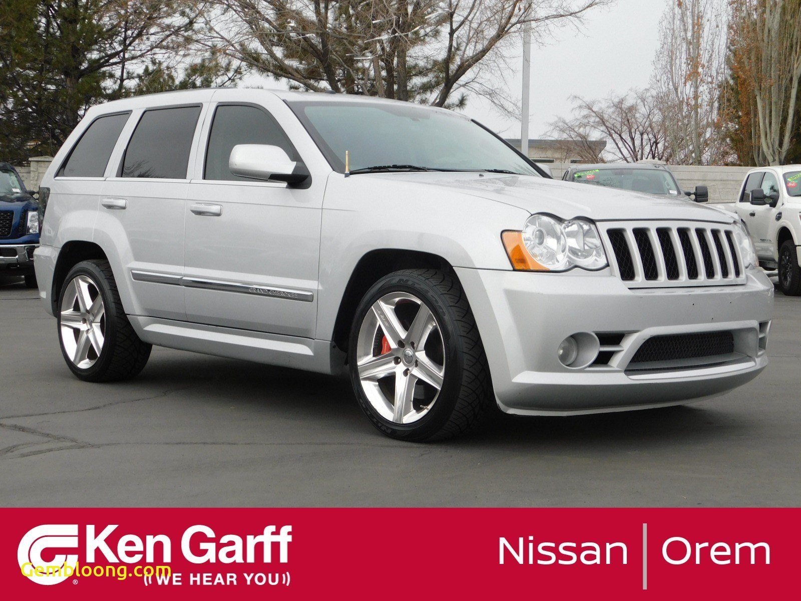 2009 Jeep Grand Cherokee Luxury Pre Owned 2009 Jeep Grand Cherokee Srt 8 with Navigation & 4wd