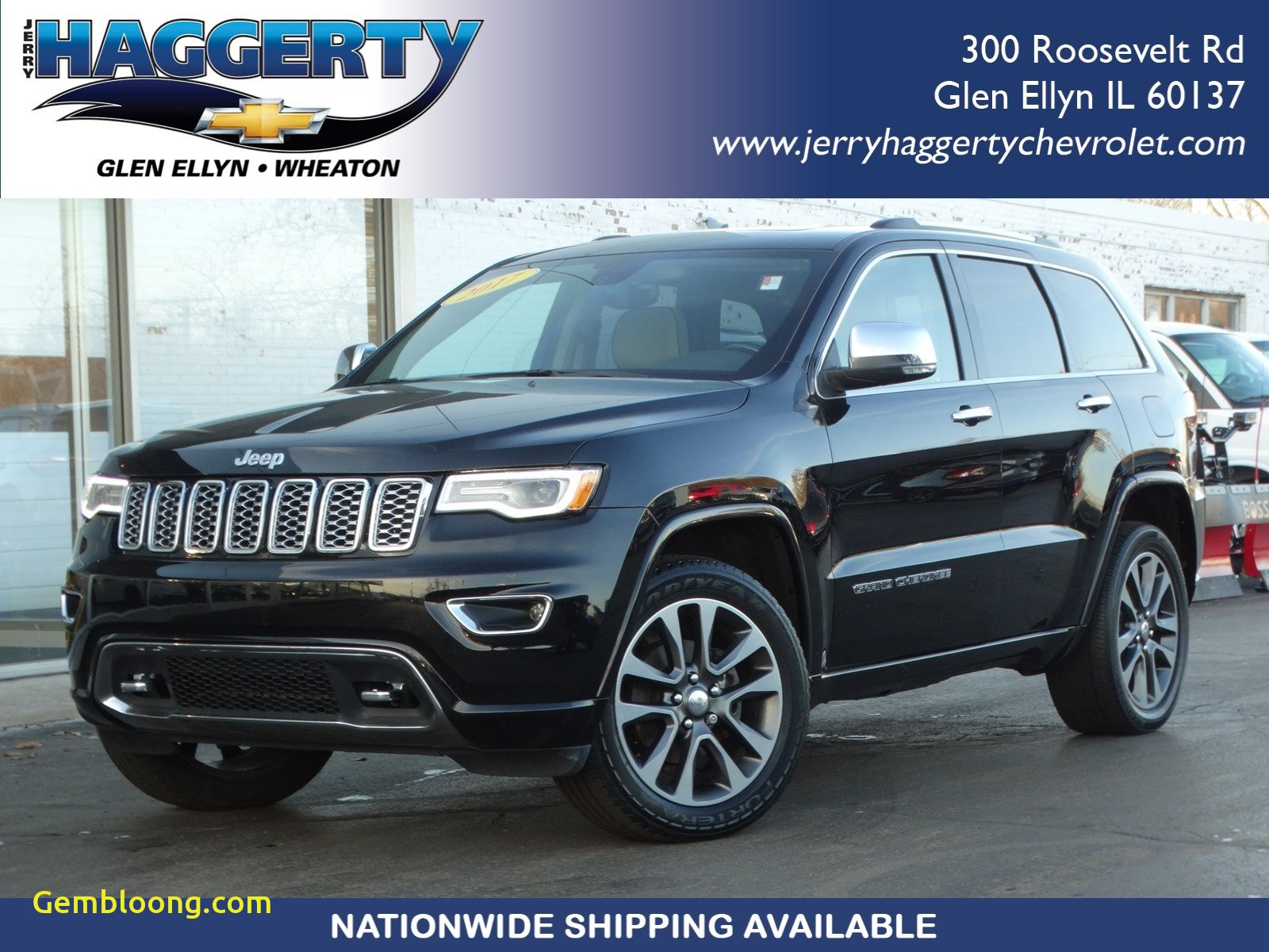 2017 Jeep Grand Cherokee Limited Elegant Pre Owned 2017 Jeep Grand Cherokee Overland with Navigation & 4wd