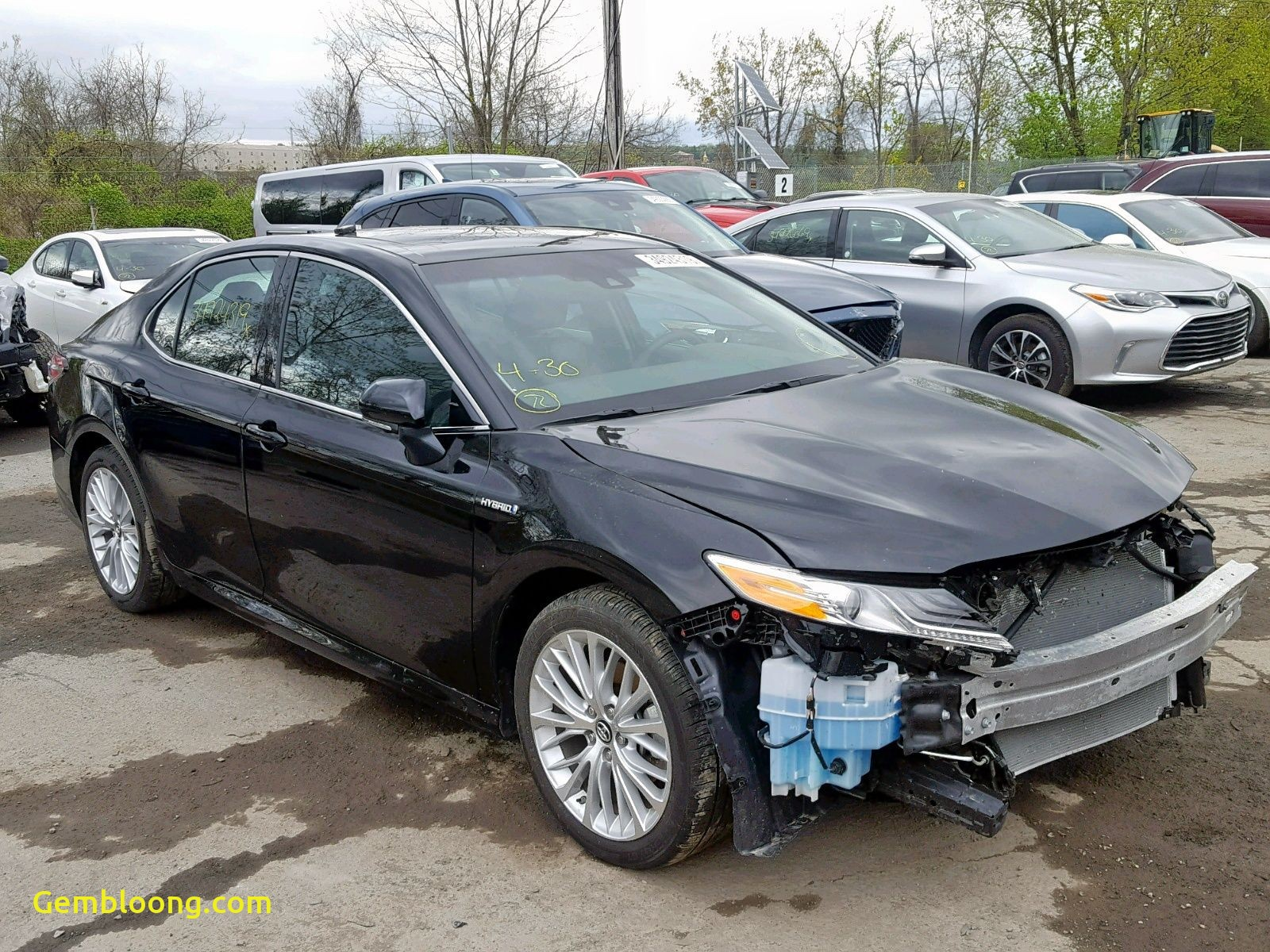 2018 Cadillac Xts Lovely 2018 toyota Camry Hybrid Salvage Car Auctions