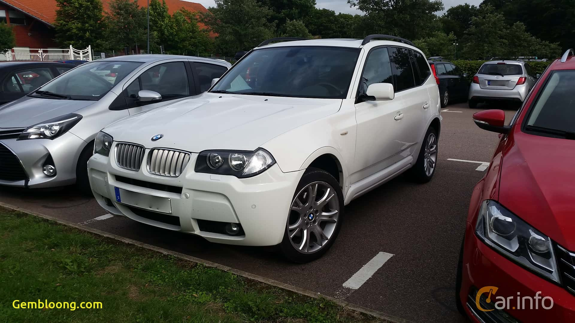 bmw x3 front side 2