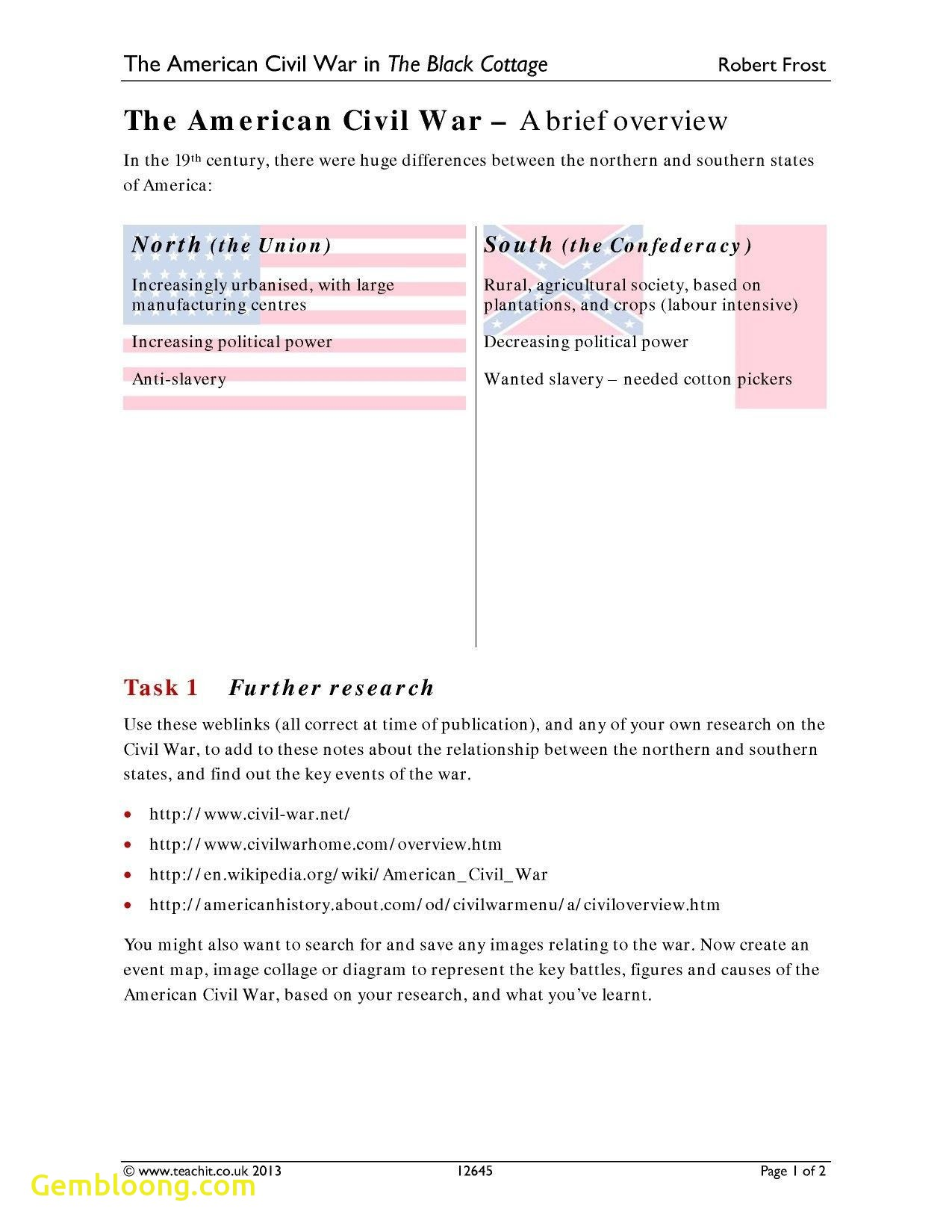 Car Accident History Report Free Lovely Unique America the Story Us Civil War Worksheet Answers