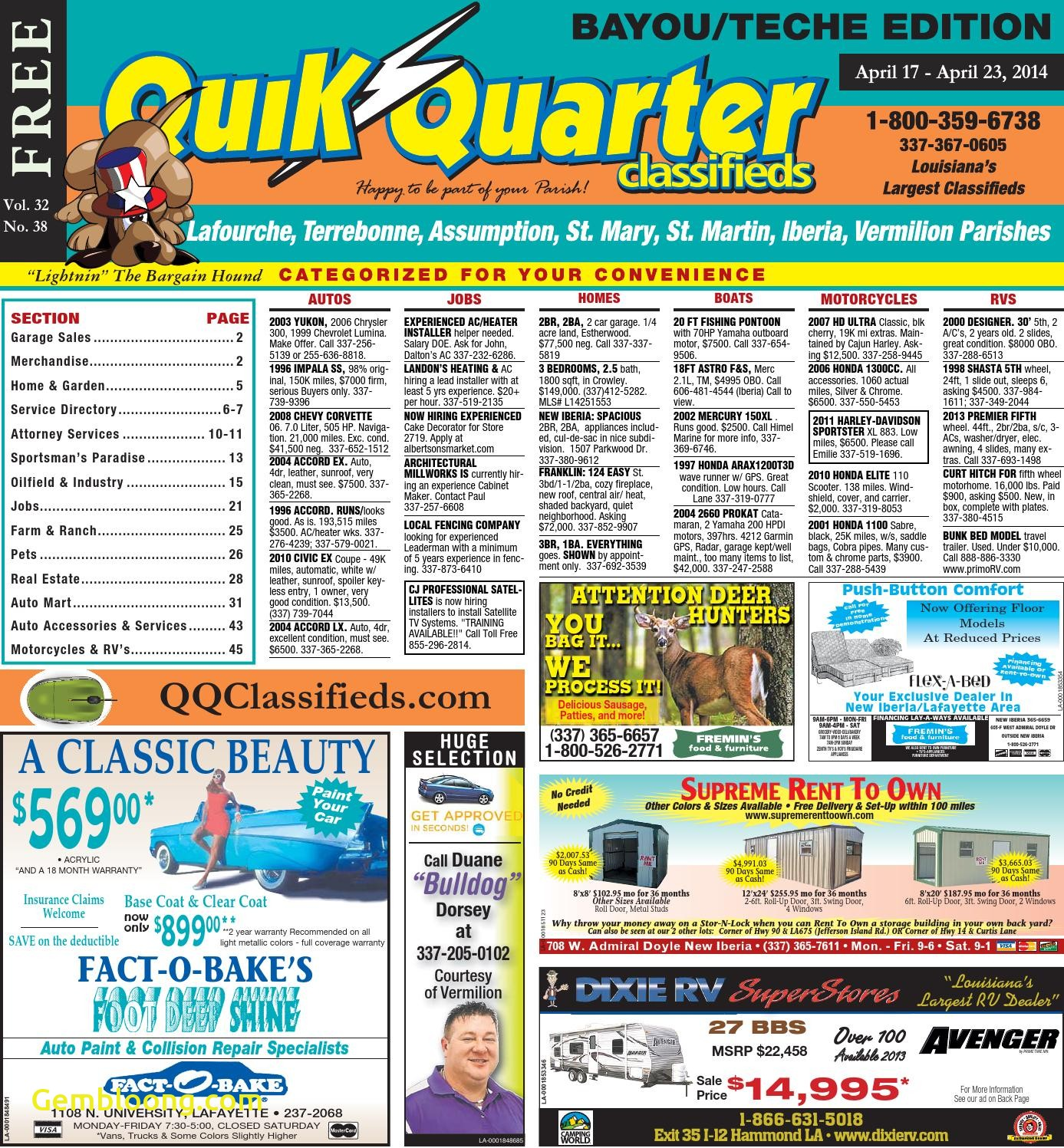 Carfax Accident Report Best Of Qq Teche 04 17 2014 by Part Of the Usa today Network issuu