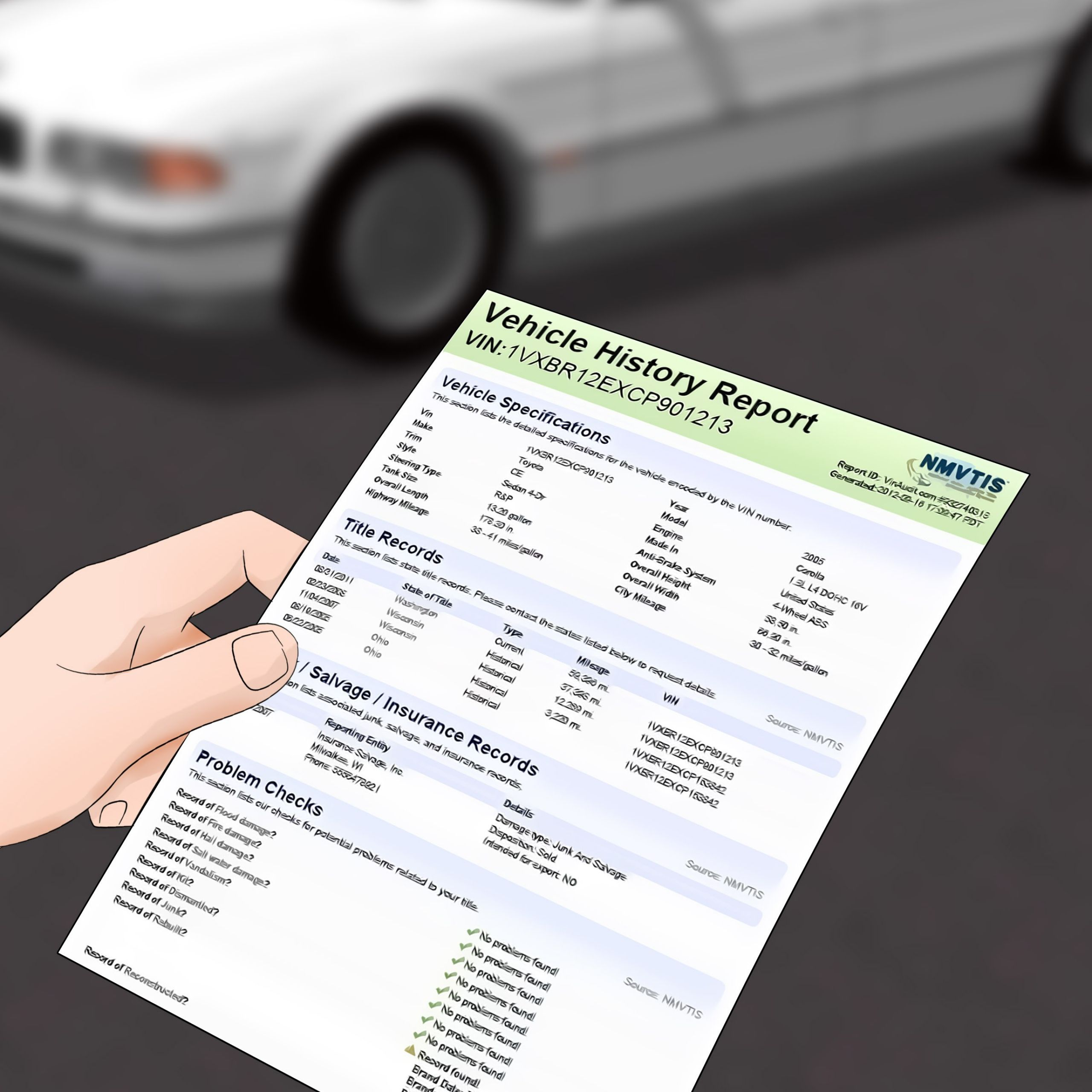Carfax Accident Report Fresh How to Check Cars for Accident Damage 10 Steps with