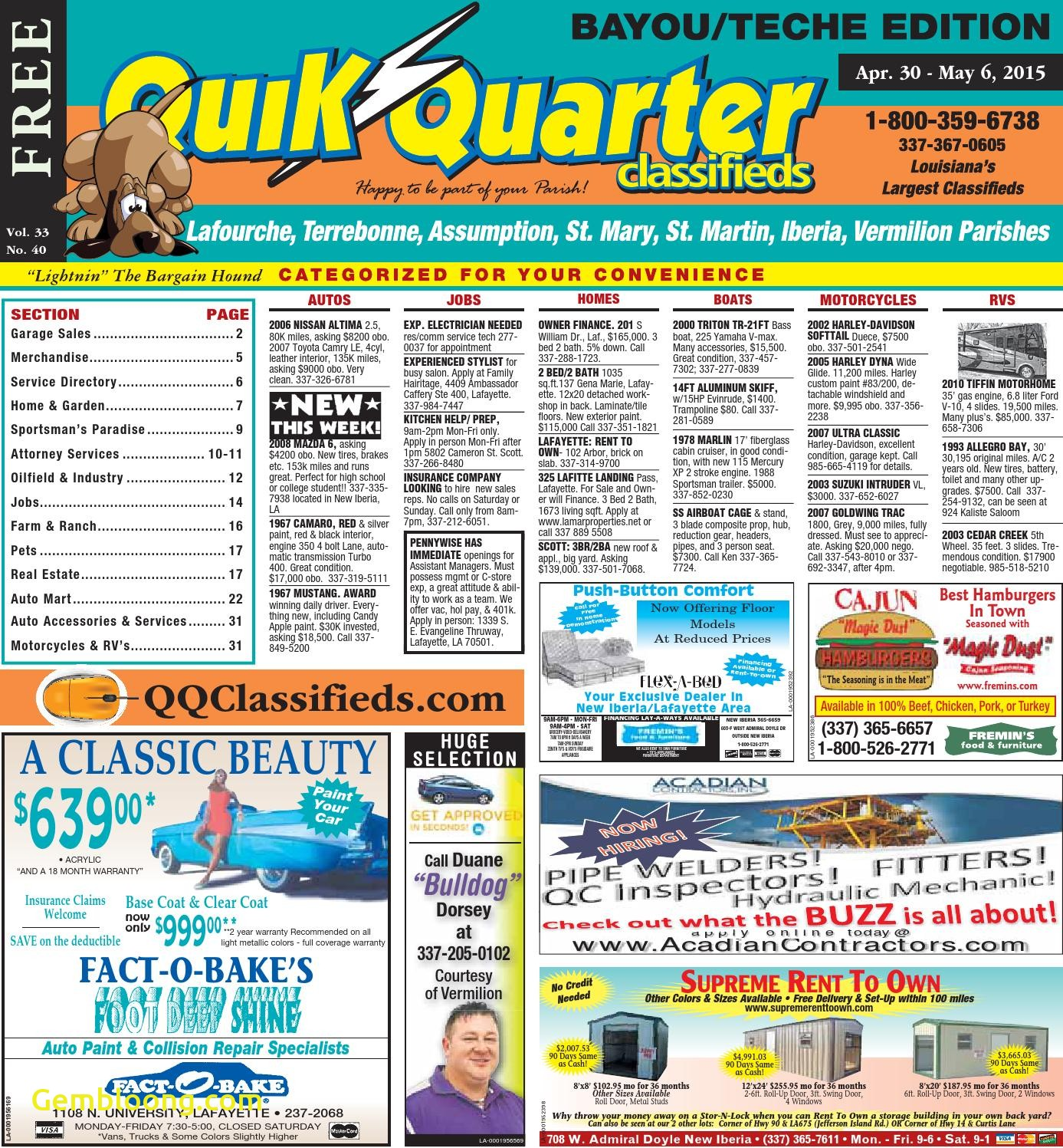 Carfax Sign Up Free Best Of Qq Teche 04 30 2015 by Part Of the Usa today Network issuu