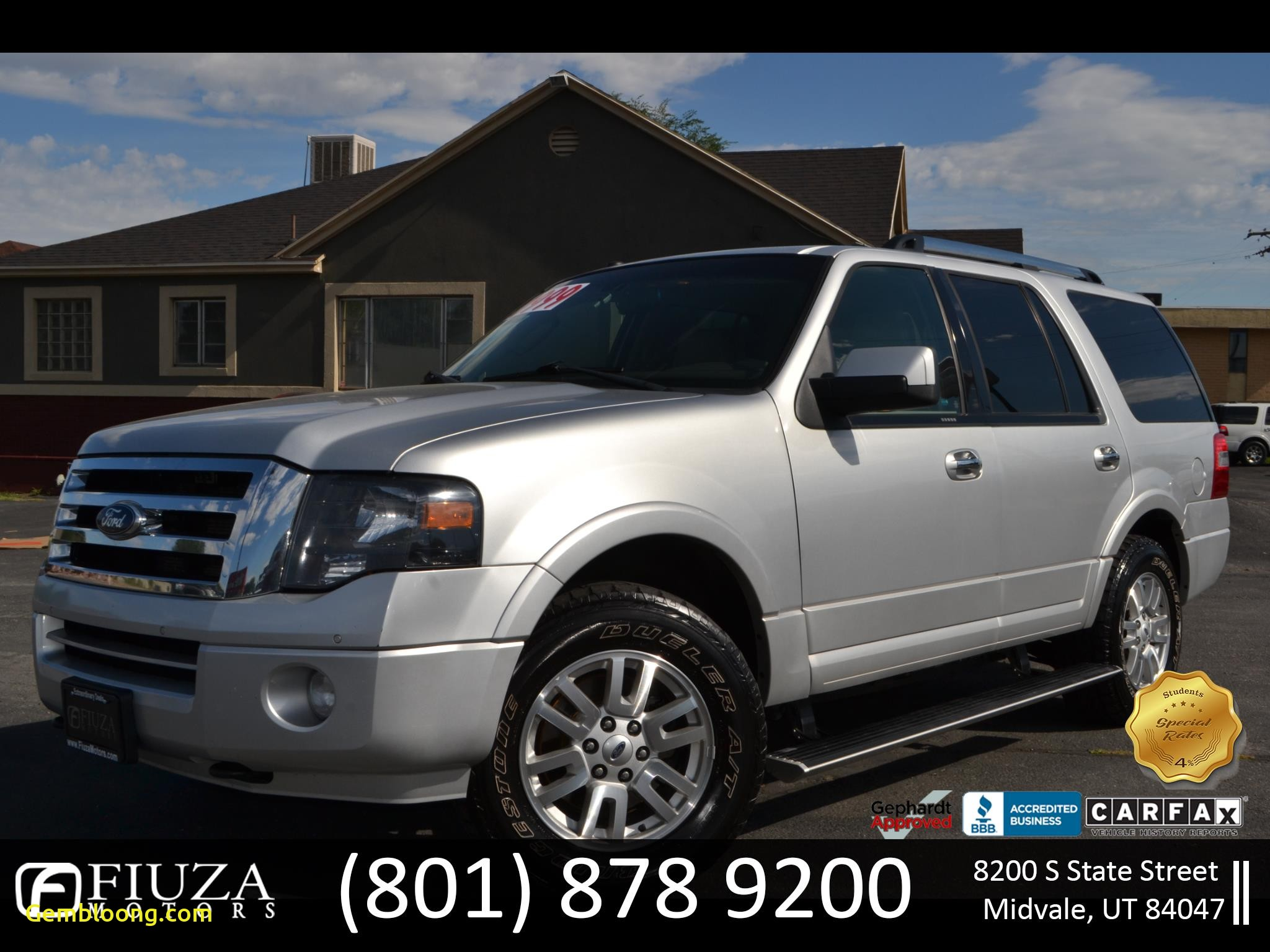 Carfax Used Cars Mn Beautiful Used 2012 ford Expedition Limited 4wd for Sale In Utah Salt