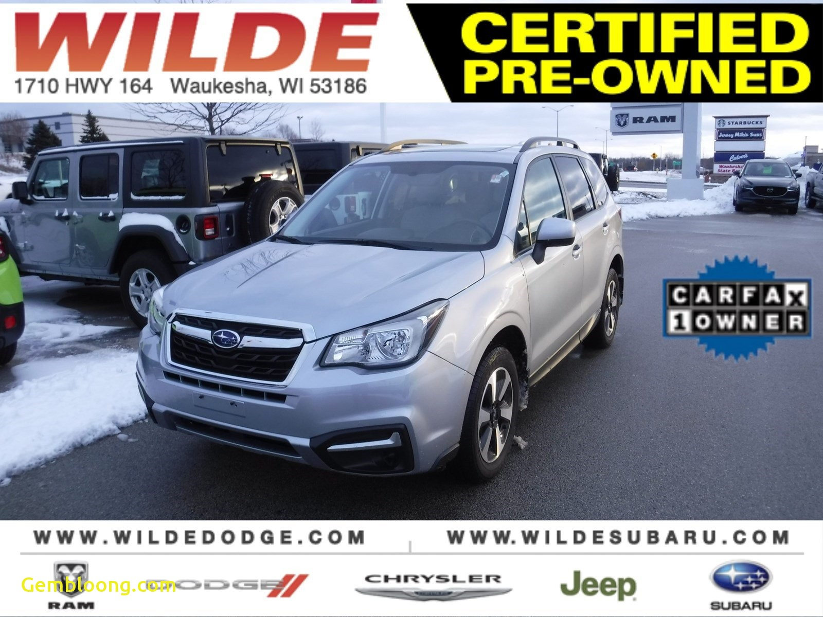Carfax Used Cars New Jersey New Certified Pre Owned 2017 Subaru forester Premium Awd