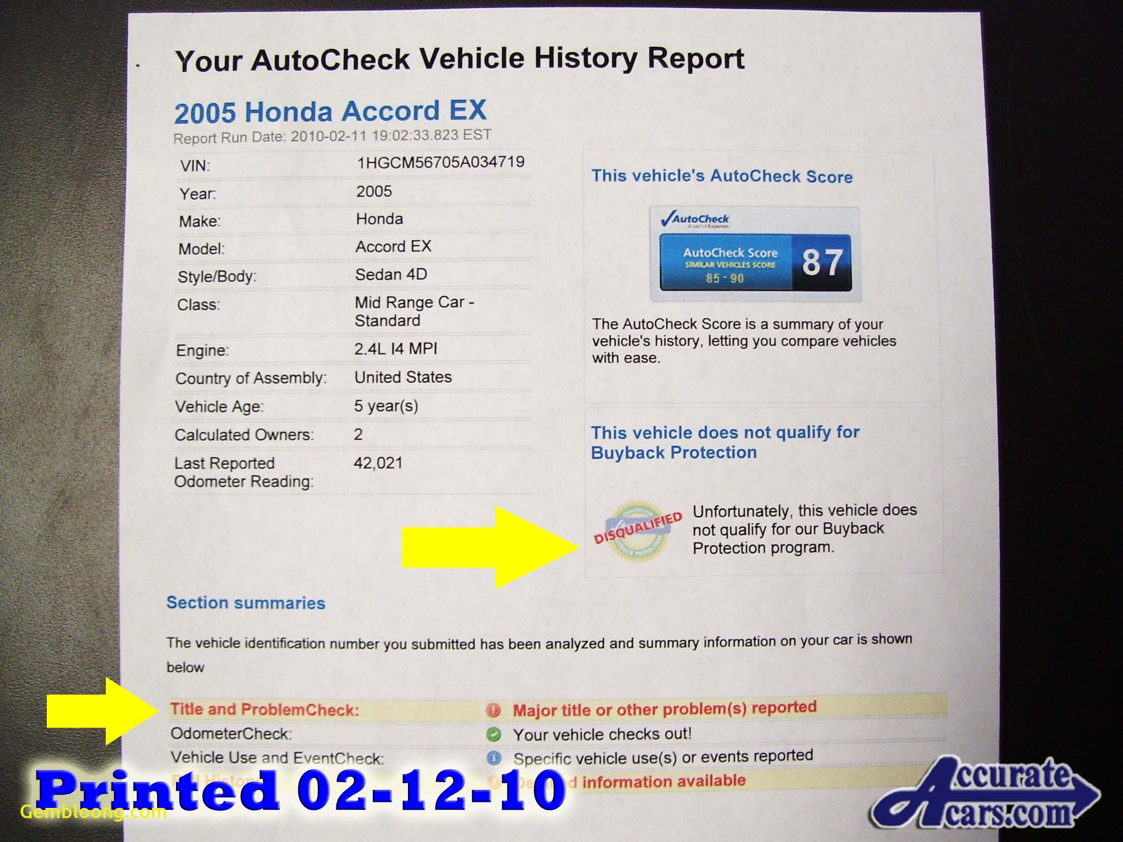 Carfax Vin Number Lookup Best Of Honda and Acura Used Car Blog