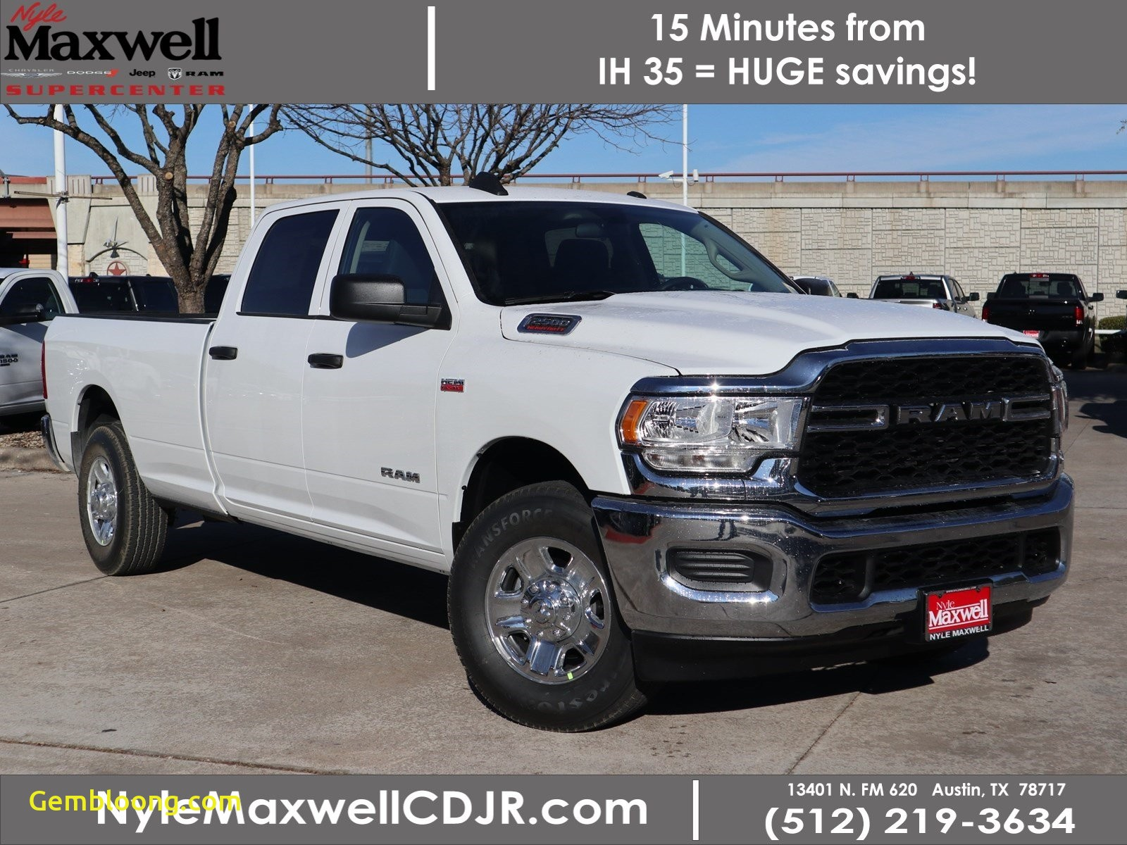 Cars for Sale Under 10000 Austin Tx Awesome New 2020 Ram 2500 Tradesman Crew Cab 4×2 8 Box
