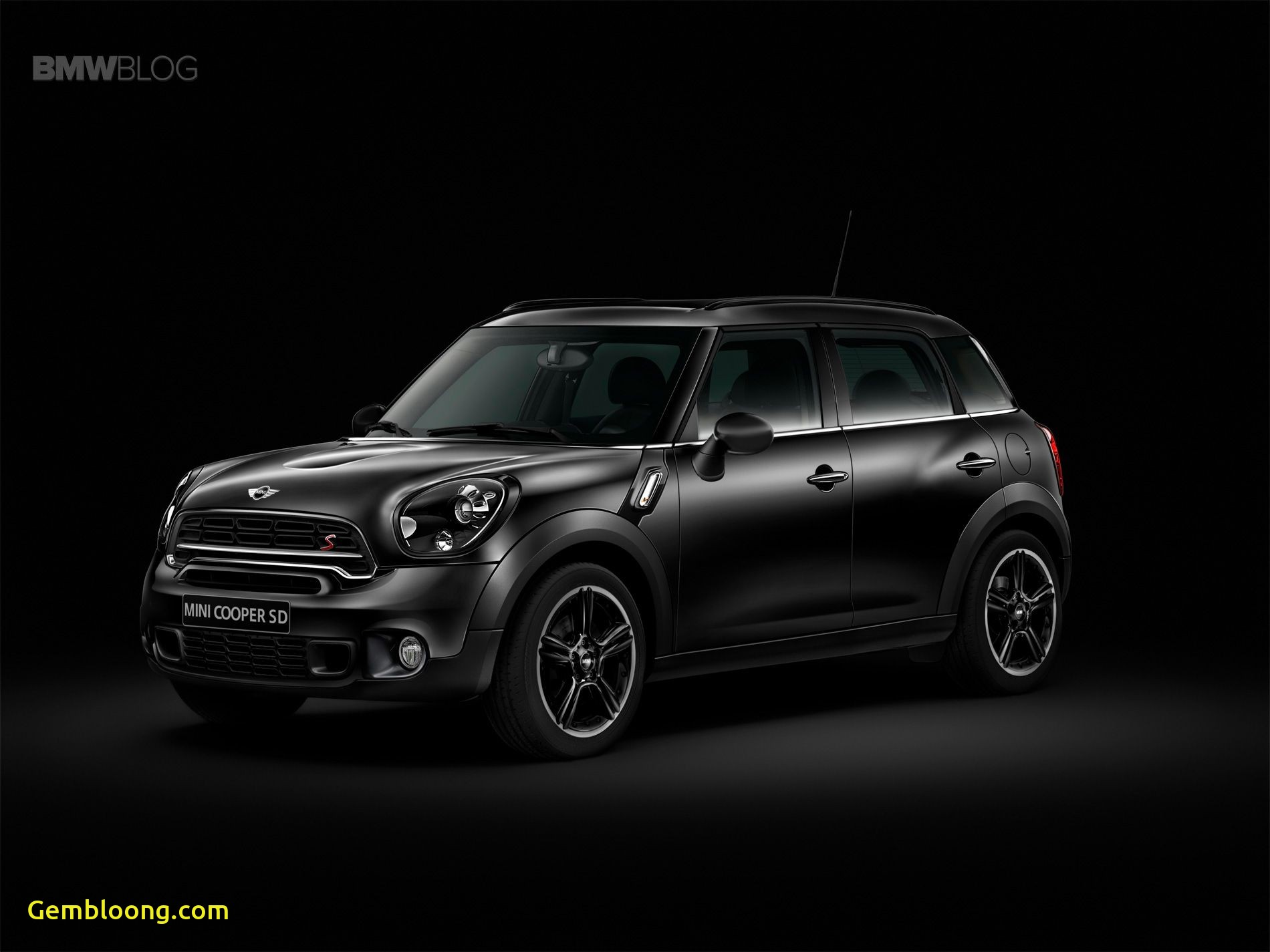 Mini Cooper Suv Luxury Mini Crossover Black Knight