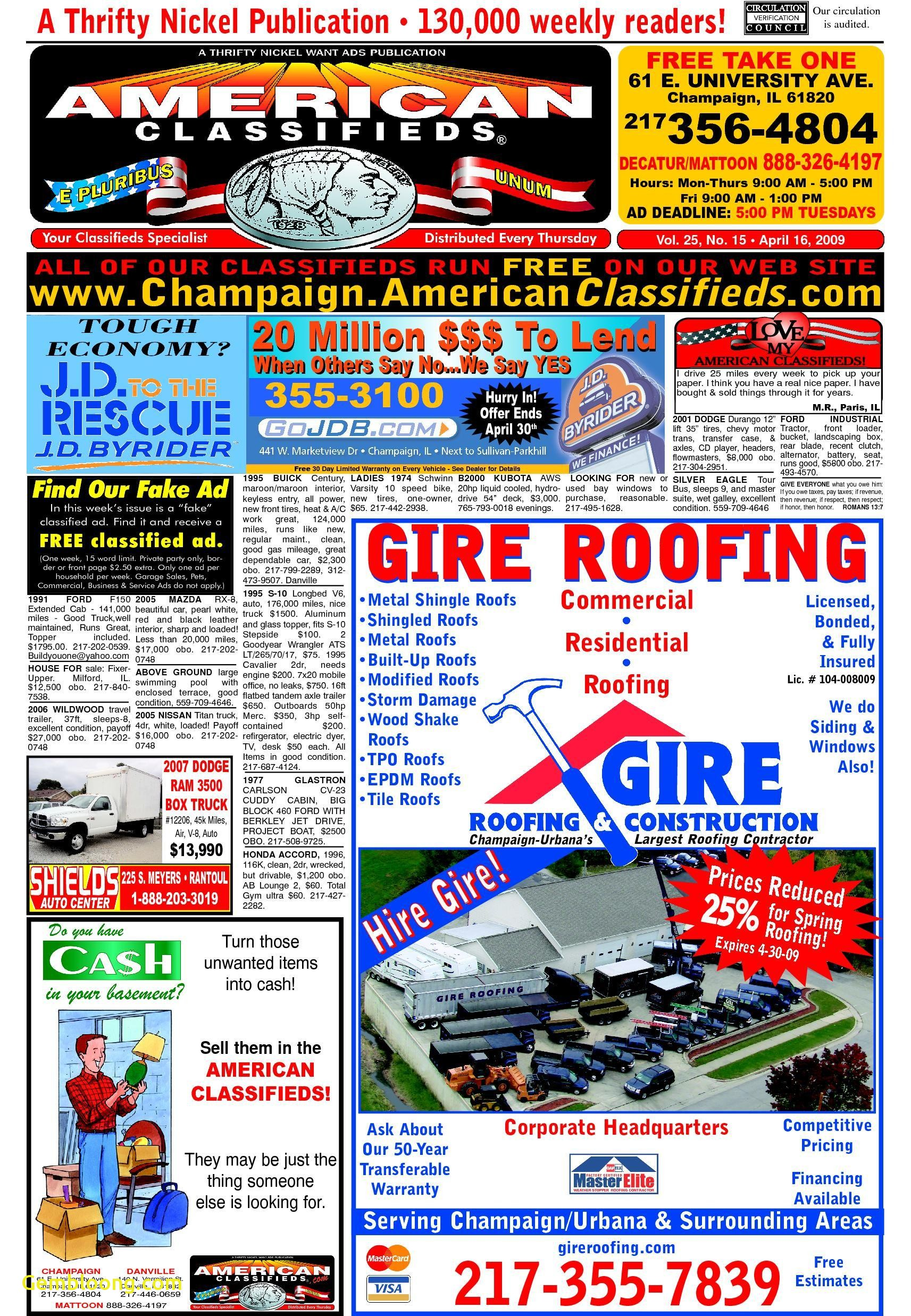 One Free Carfax Awesome American Classifieds Champaign by American Classifieds issuu