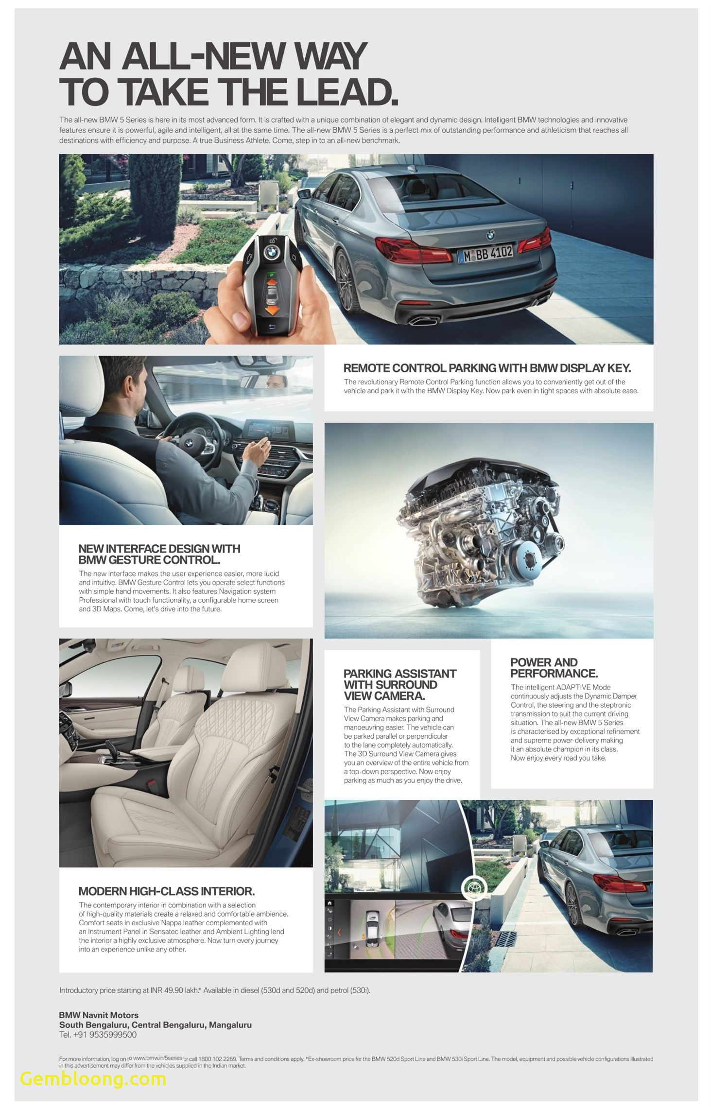 Quality Motors New Bmw An All New Way to Take the Lead Ad Times Of India