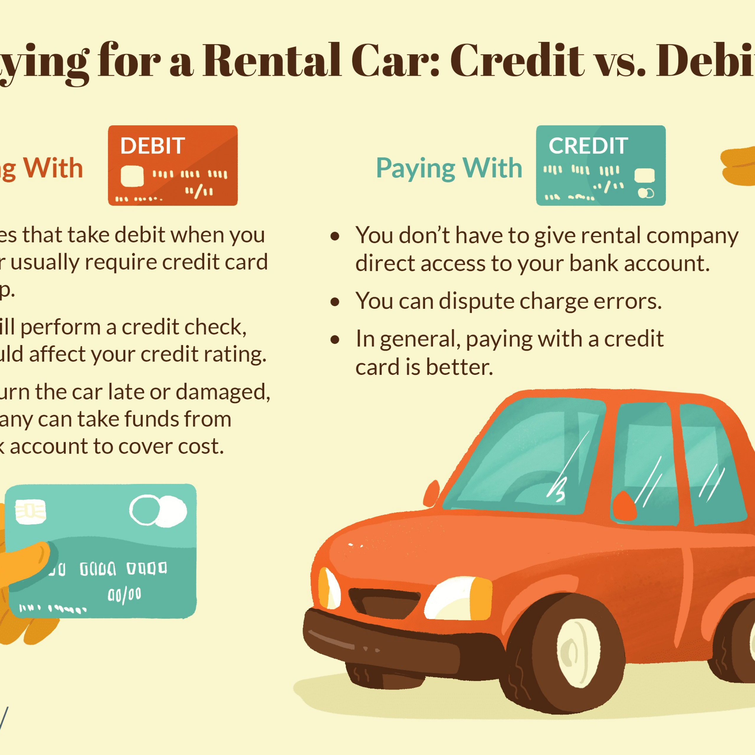 Rental Cars for Sale Near Me Luxury Rental Cars Paying with Credit or Debit Cards