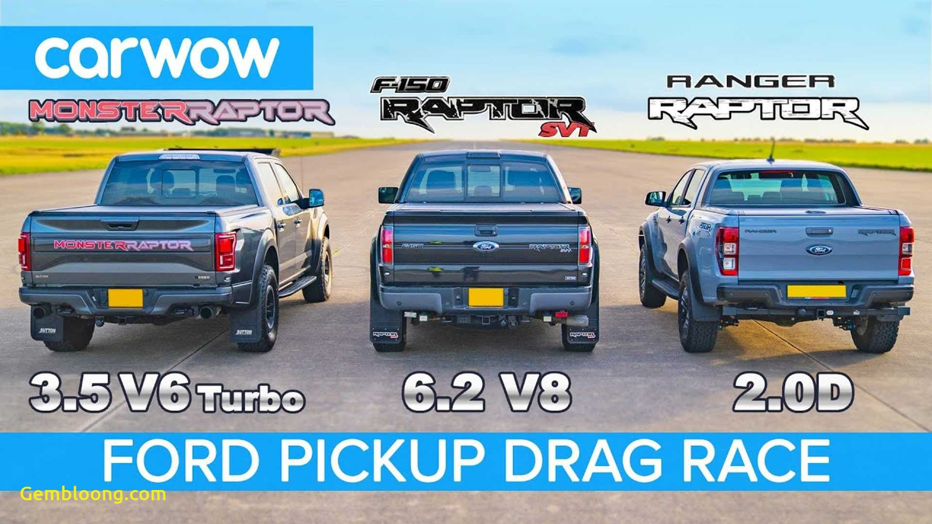 Use Truck Inspirational Watch Old and New ford F 150 Raptor Drag Race Ranger Raptor
