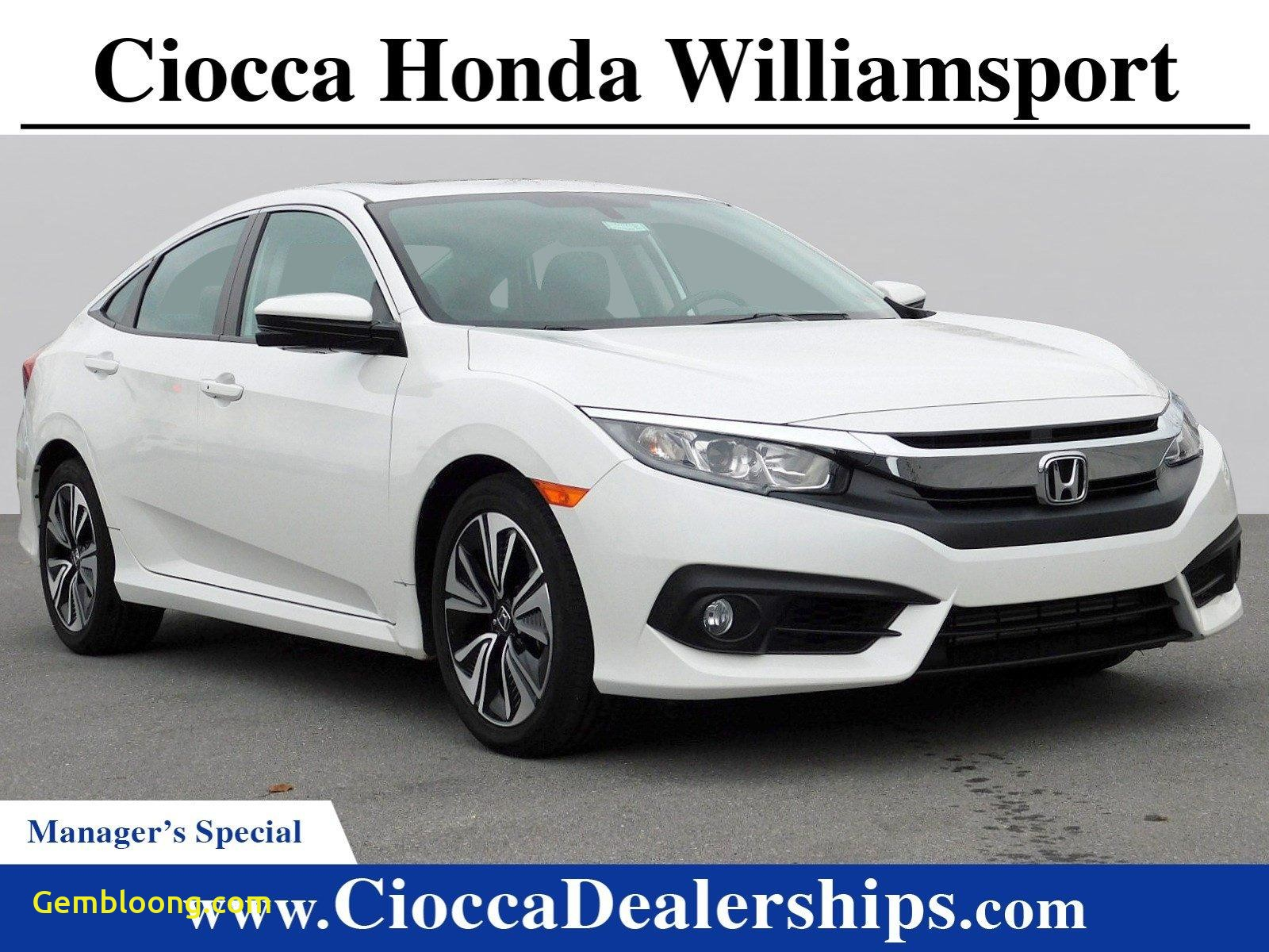 Used Cars for Sale Near Me Honda Civic New Used 2017 White orchid Pearl Honda Civic Sedan for Sale In