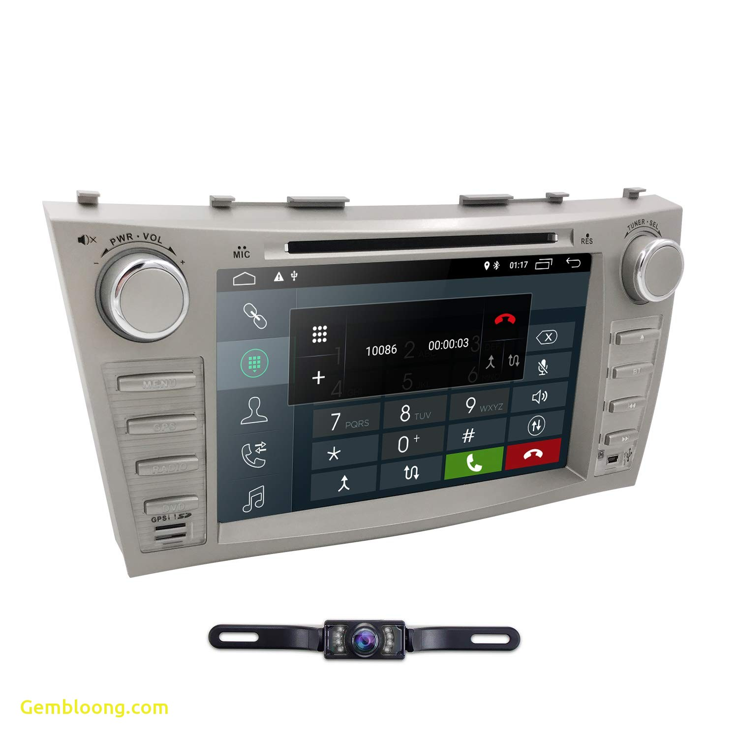 2009 toyota Camry Beautiful Hizpo Car Dvd Player for toyota Camry 2007 2008 2009