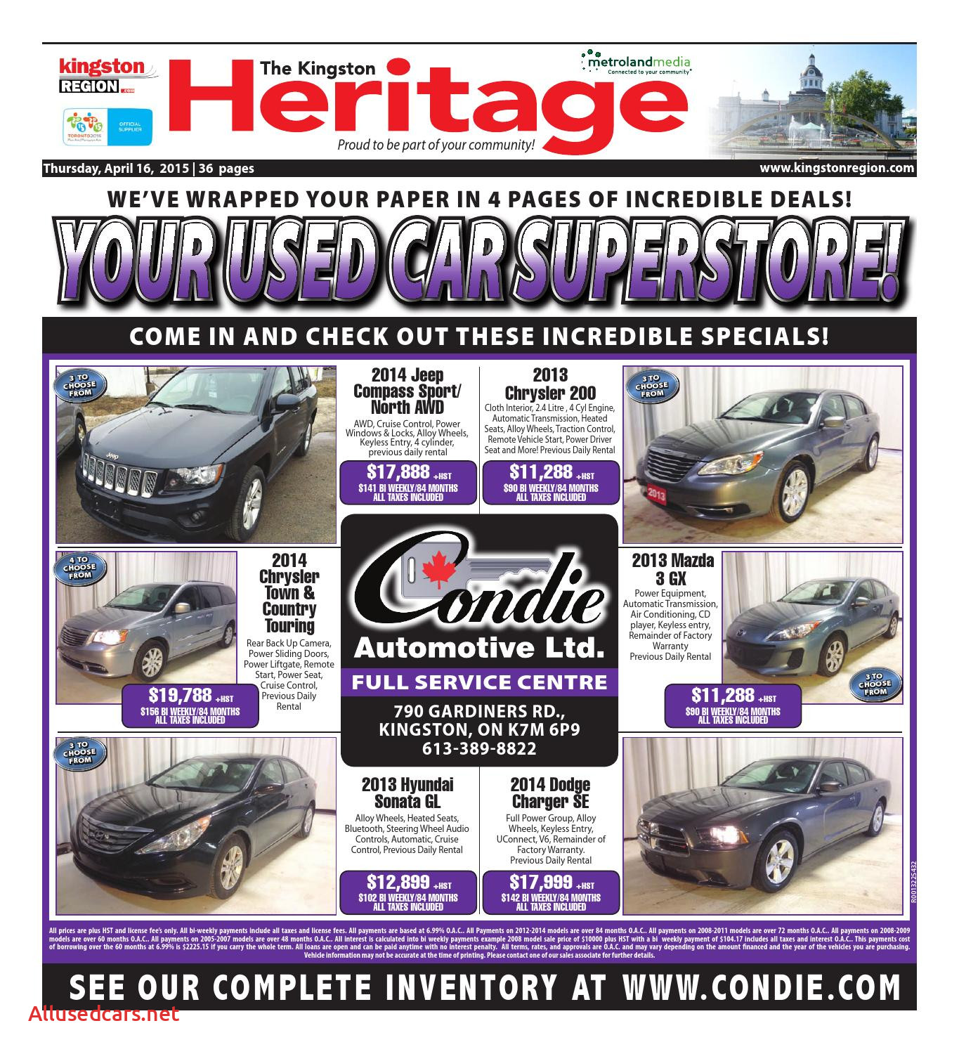 2011 Buick Enclave Luxury Kingston by Metroland East Kingston Heritage Real
