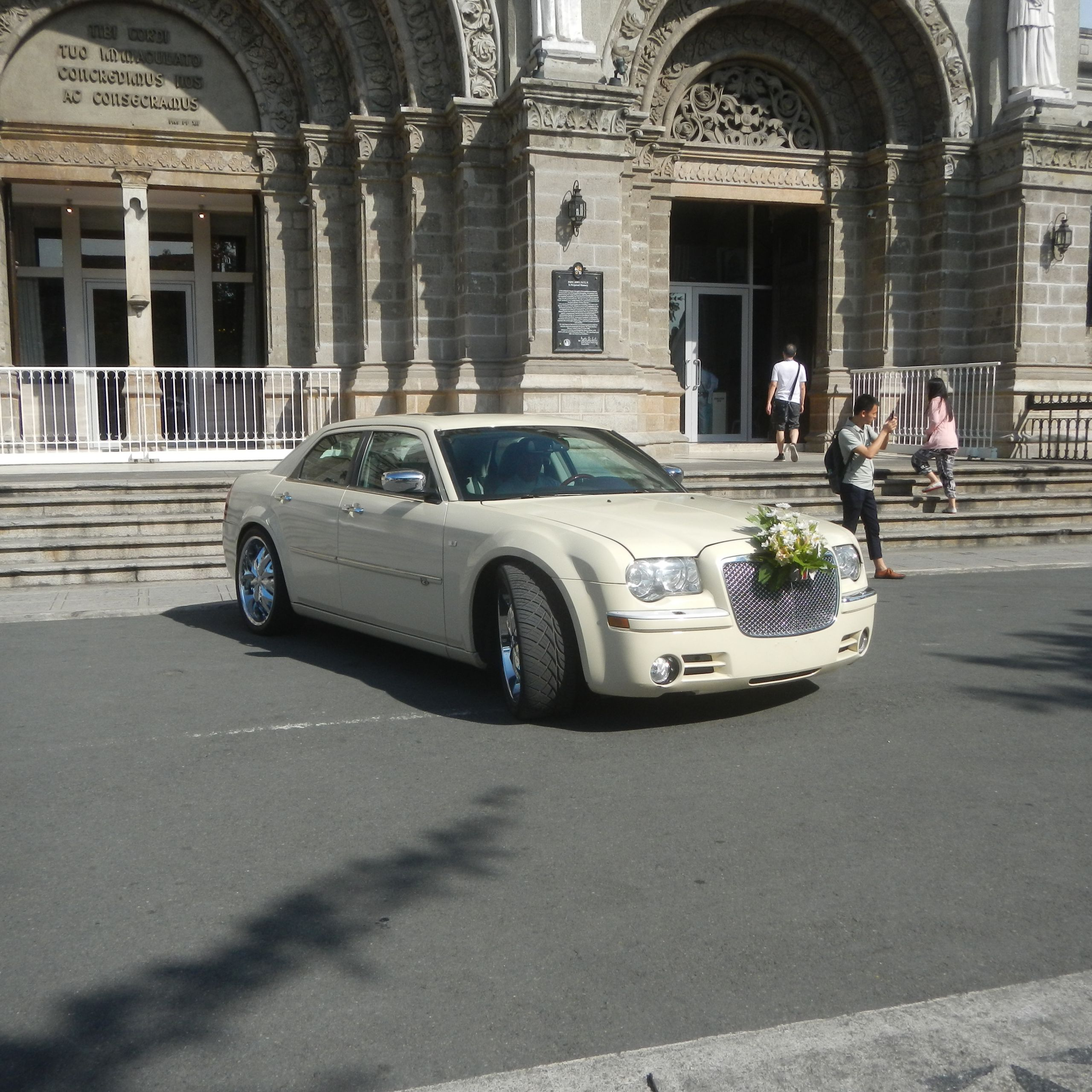 2011 Chrysler 300 New File Jfintramuros Manila Landmarks Wedding Cars