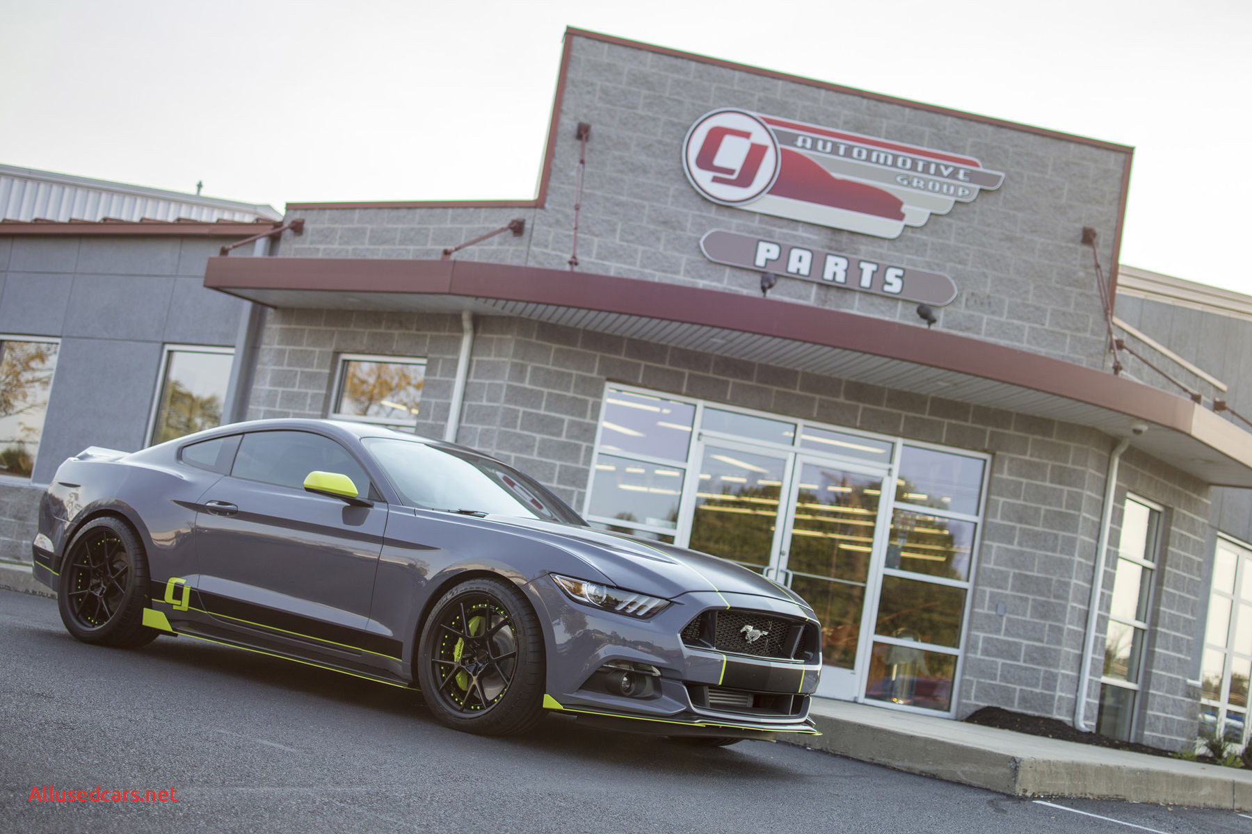 2012 ford Mustang New Sema 2016 Cj S Stealth Gray Mustang Unveiled