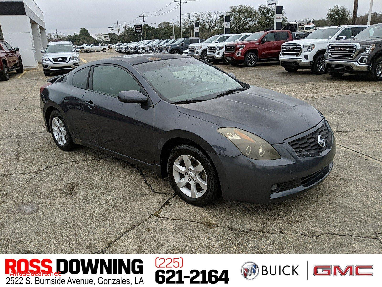 2015 Buick Verano New Used Nissan Altima at Ross Downing In Hammond and Gonzales