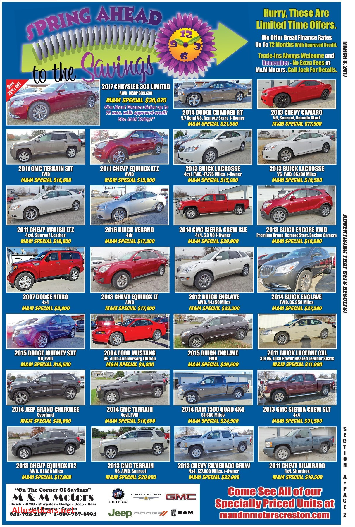 2017 Buick Enclave Elegant 1882 March 8 2017 Exchange Newspaper Eedition Pages 1 44