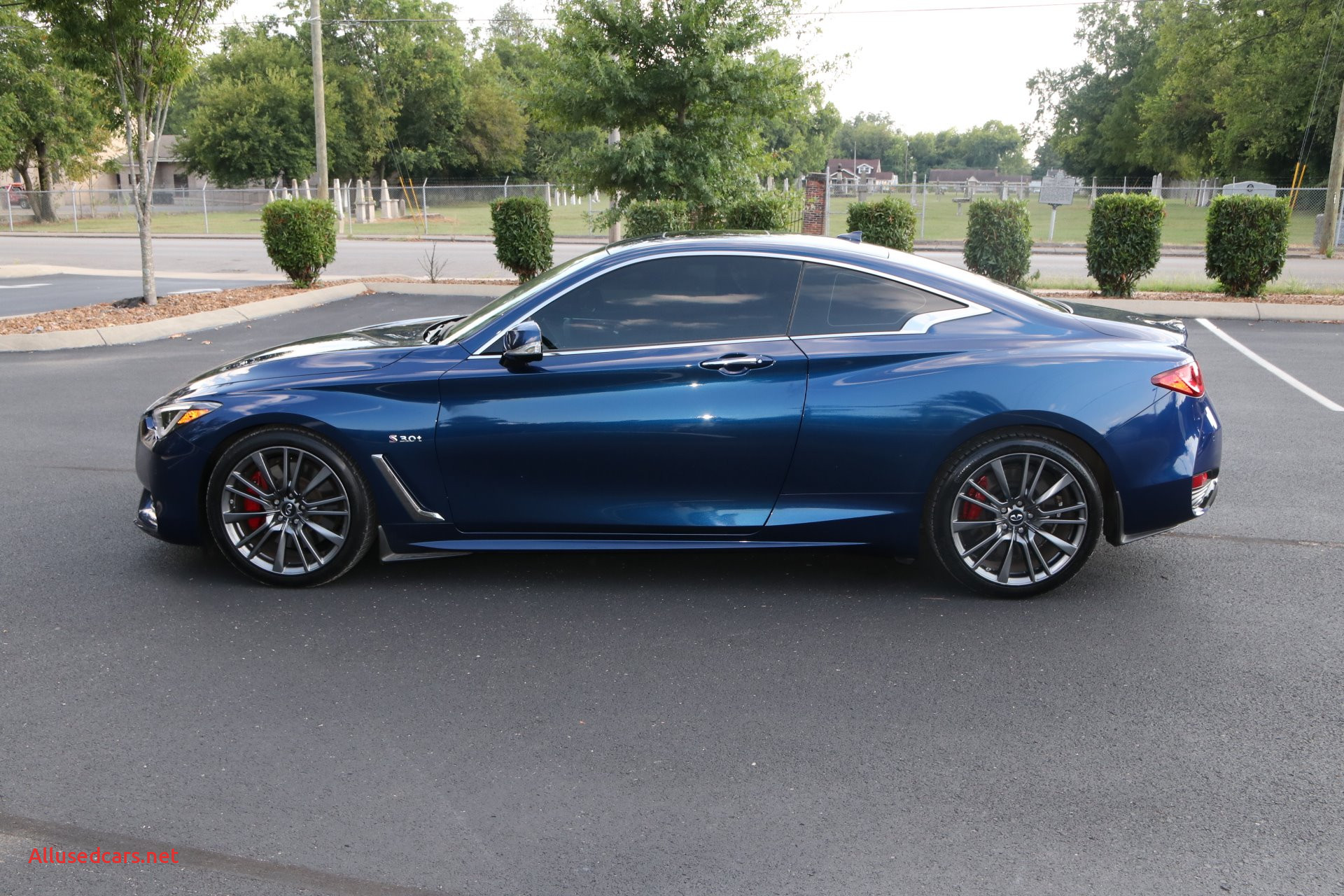 2017 Infiniti Q60 Awesome Used 2017 Infiniti Q60 Red Sport 400 for Sale $35 950