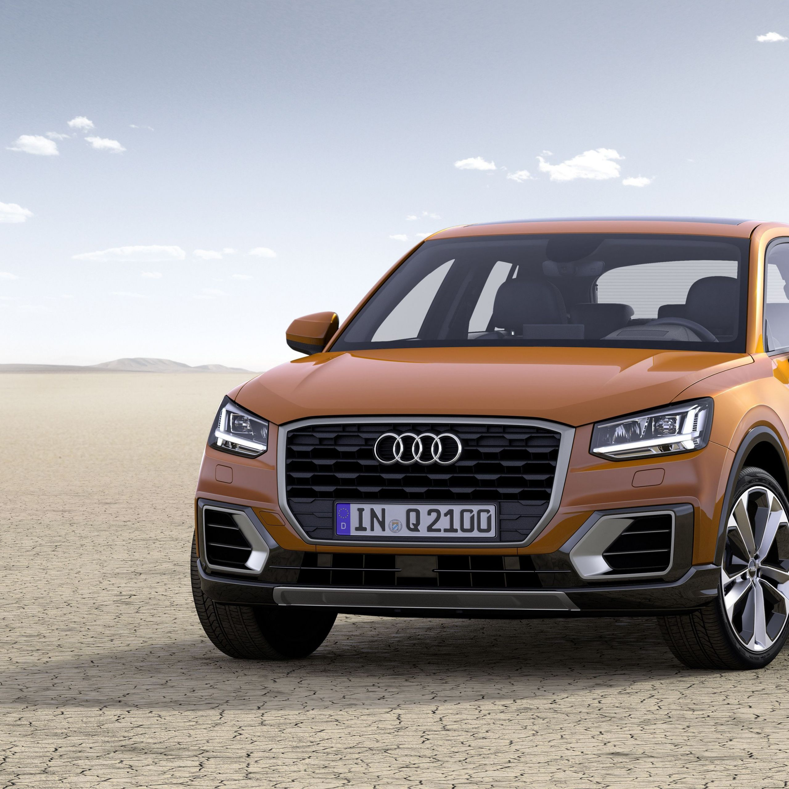 Audi Q3 2013 Unique the Q2 Certainly Looks Distinctive with Its Floating Blade