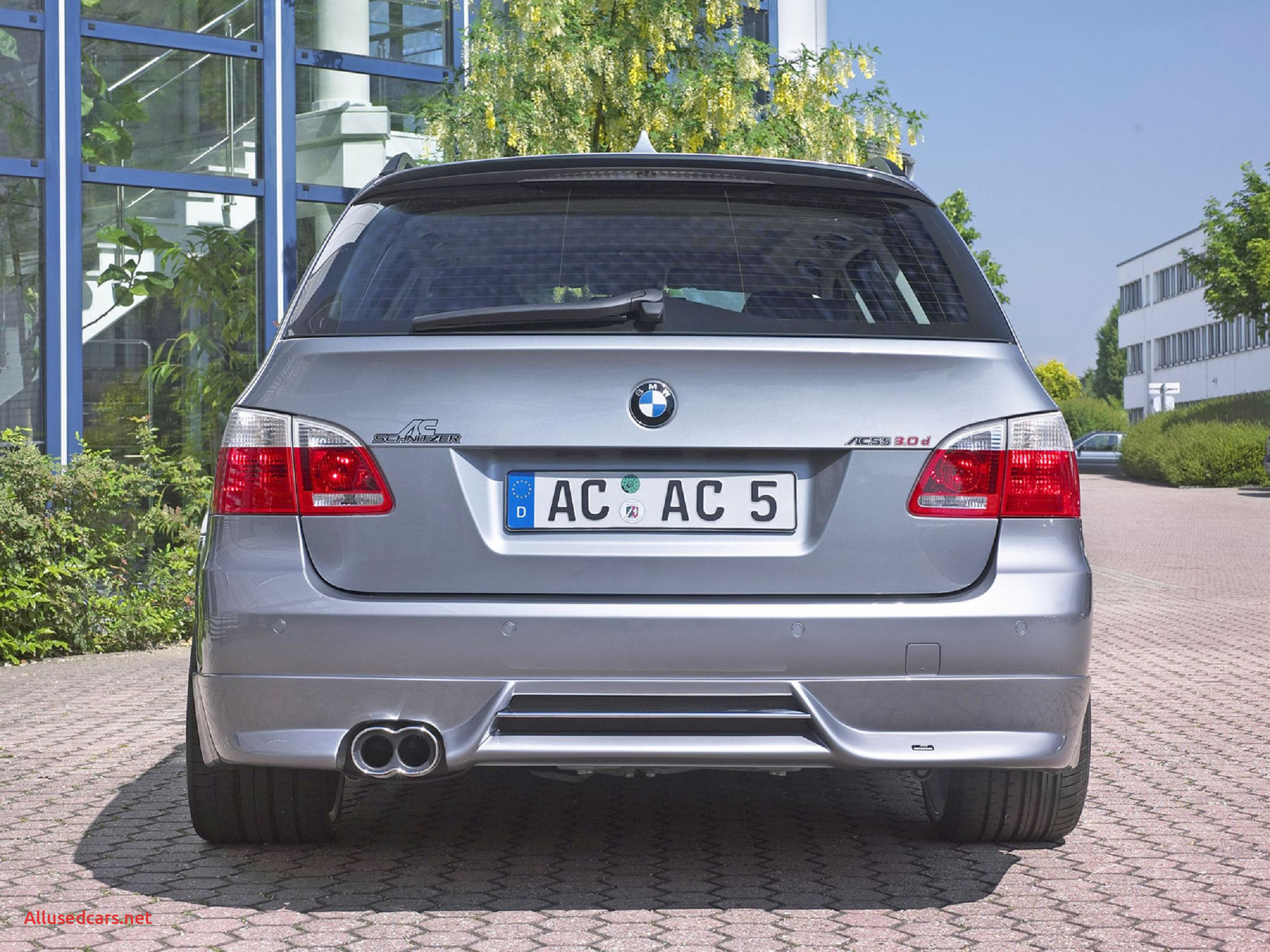 Bmw 2005 New 2005 Ac Schnitzer Bmw Acs5 touring Rear Hd Car Wallpapers