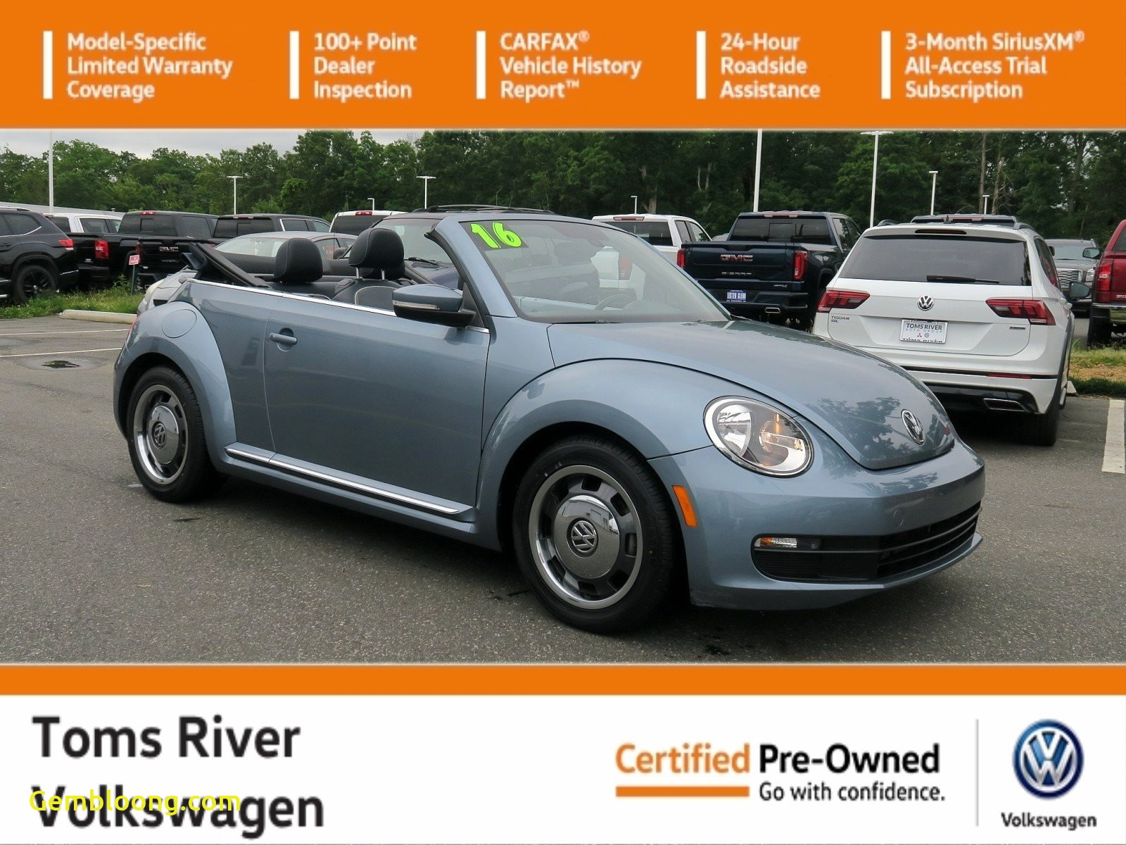 Car Reports Other Than Carfax Inspirational Certified Pre Owned 2016 Volkswagen Beetle Convertible 1 8t Denim Fwd Convertible