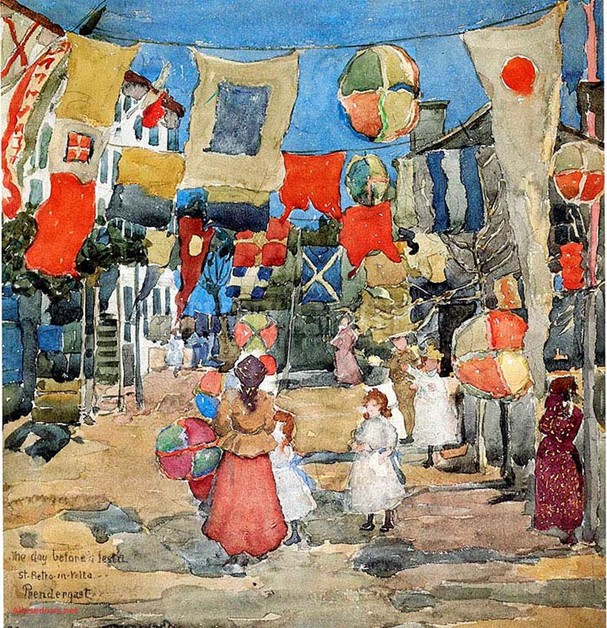 Fiesta St for Sale Beautiful Fiesvenice S Pietro In Vol Also Known as the Day before the Fiesta St Pietro In Volte by Maurice Prendergast