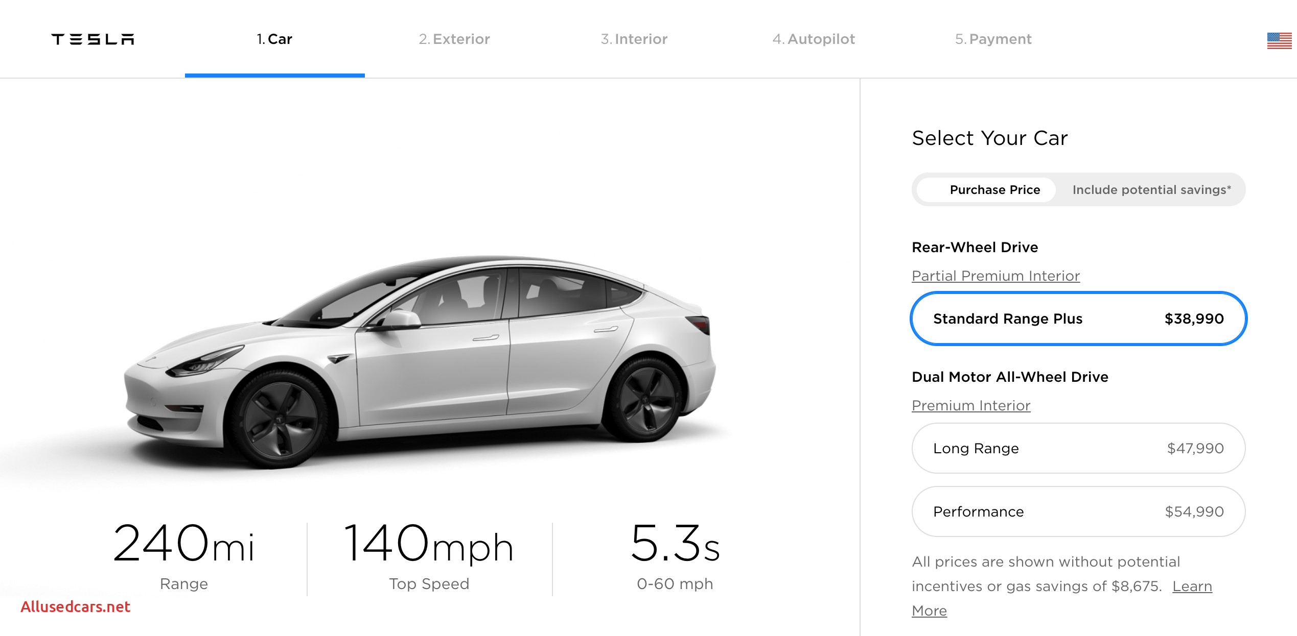 How Much Tesla Model 3 New Tesla Recalibrates Model 3 Pricing & Adds Long Range Option