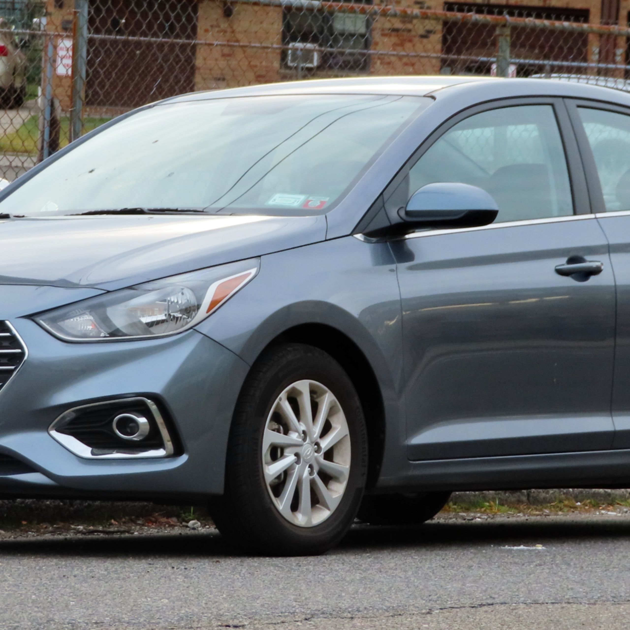 2019 Hyundai Accent 1 6L front 10 8 19