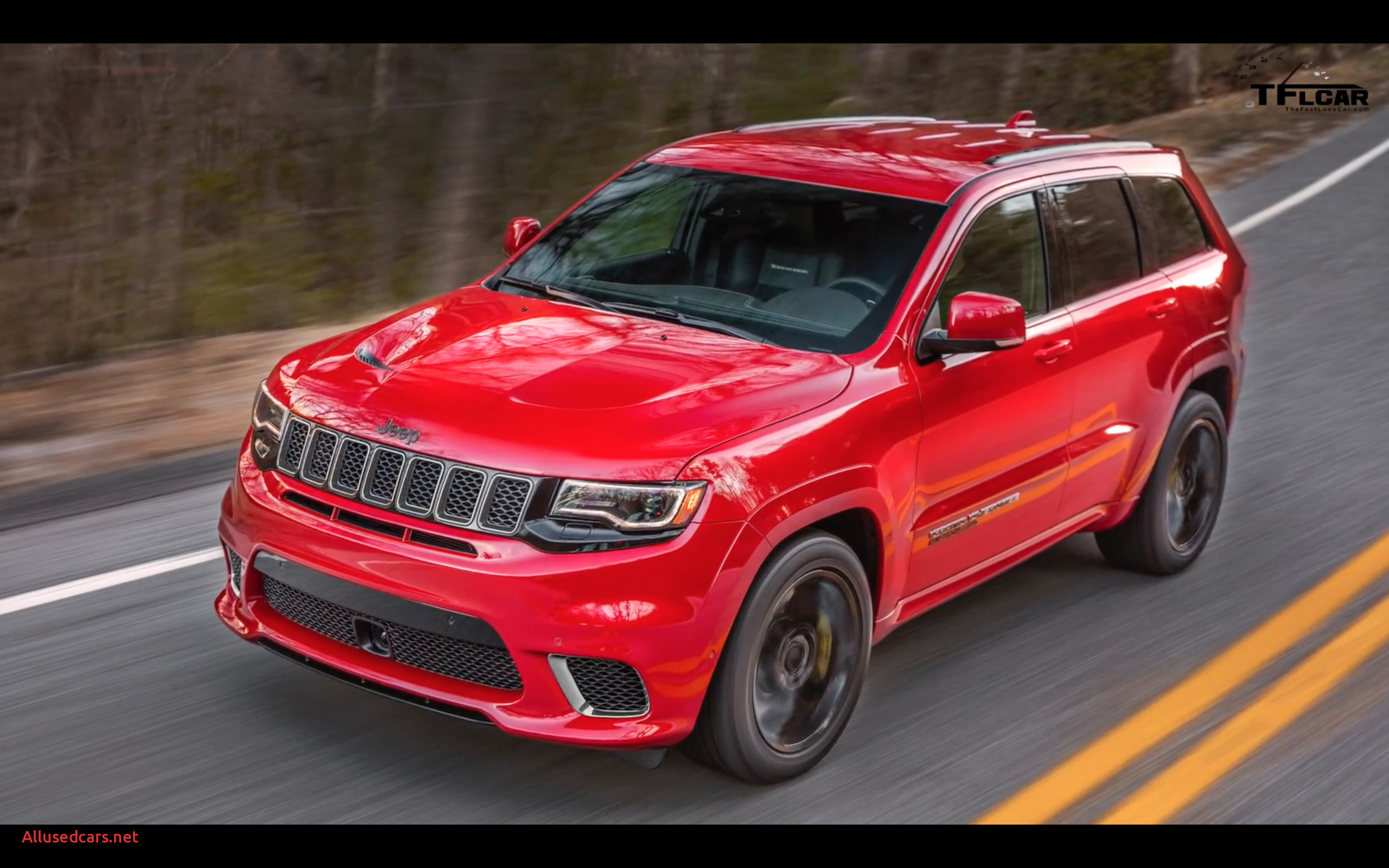 Jeep Grand Cherokee Srt8 Awesome Video Jeep Grand Cherokee Srt Trackhawk
