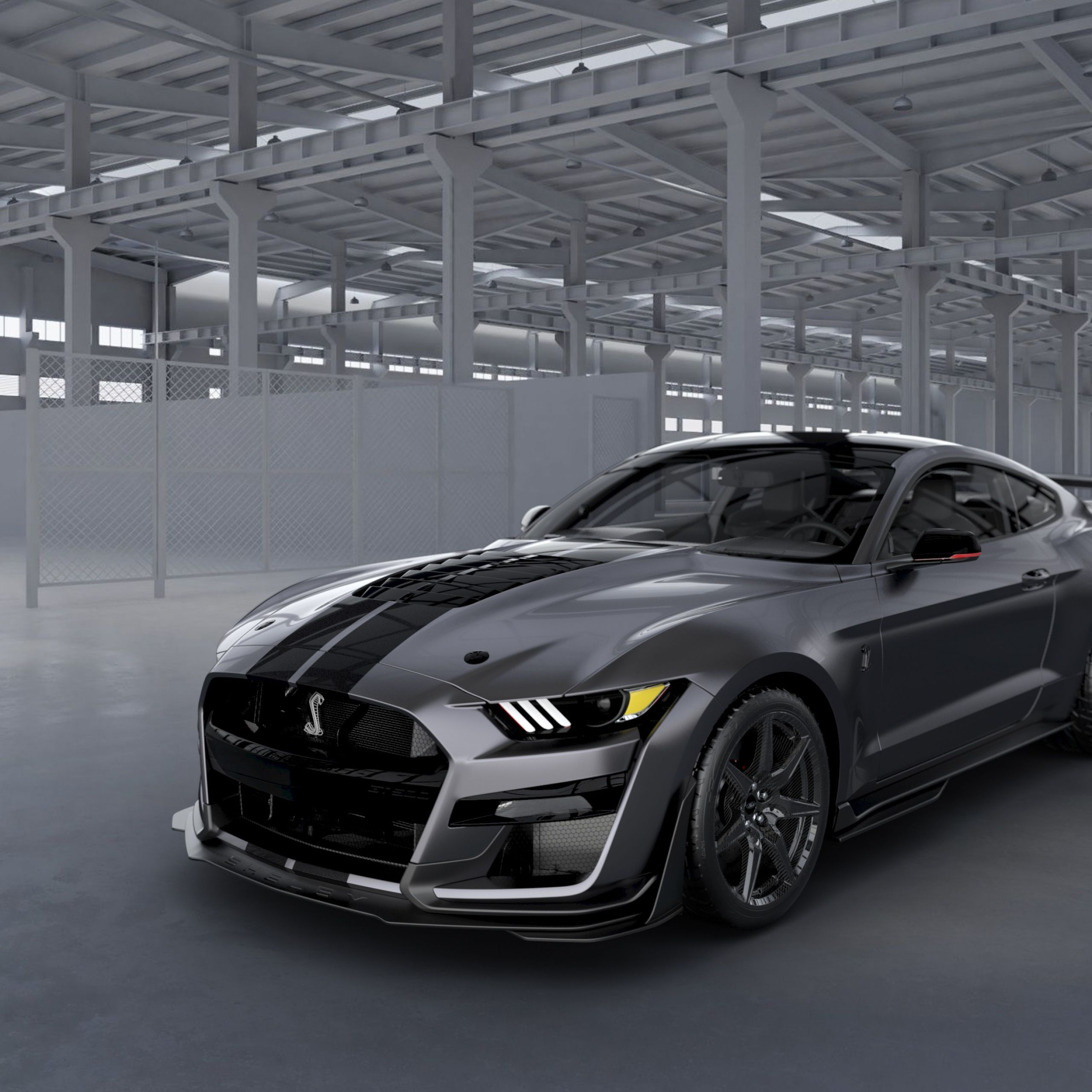 Mustang 2020 Unique ford Creates One Off 2020 Mustang Shelby Gt500