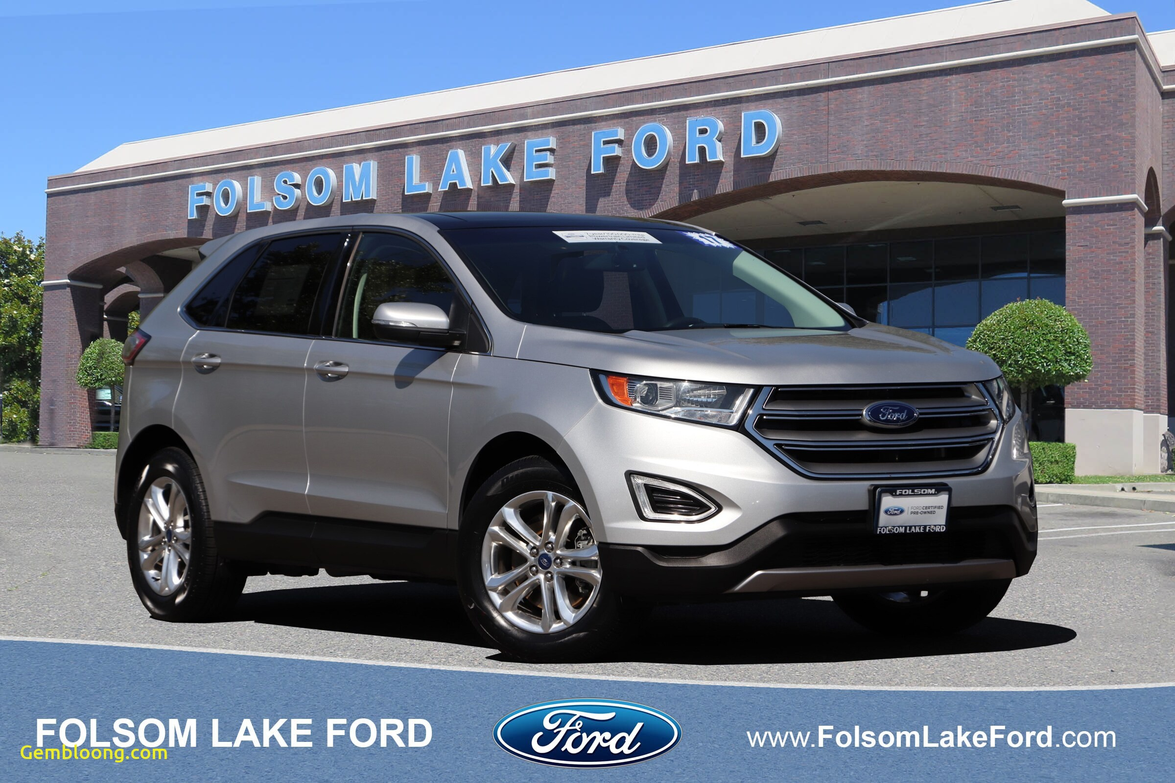 Pre Used Cars Elegant Certified Used 2017 ford Edge for Sale Folsom Ca