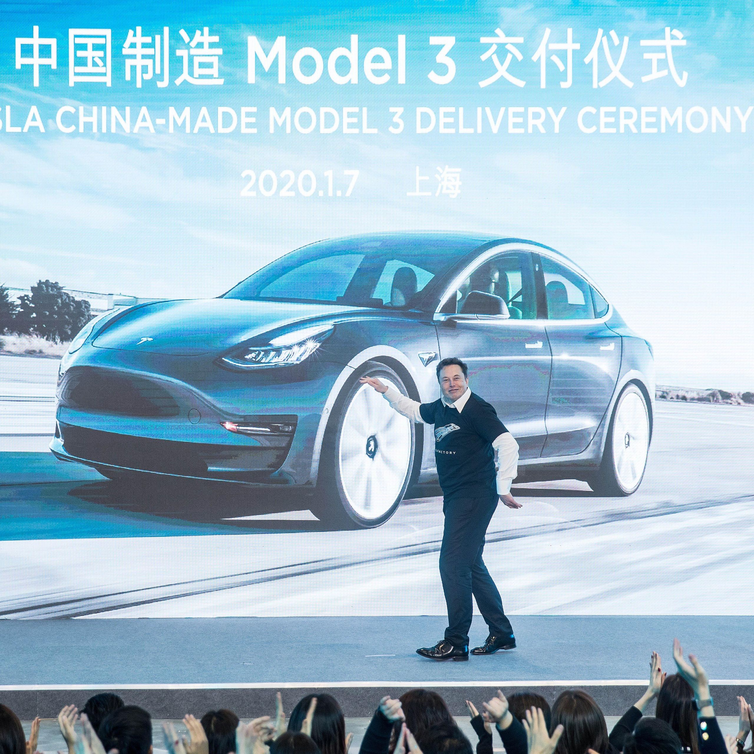Tesla 2020 Inspirational Tesla Has Delivered Its First China Made Cars now It S Time