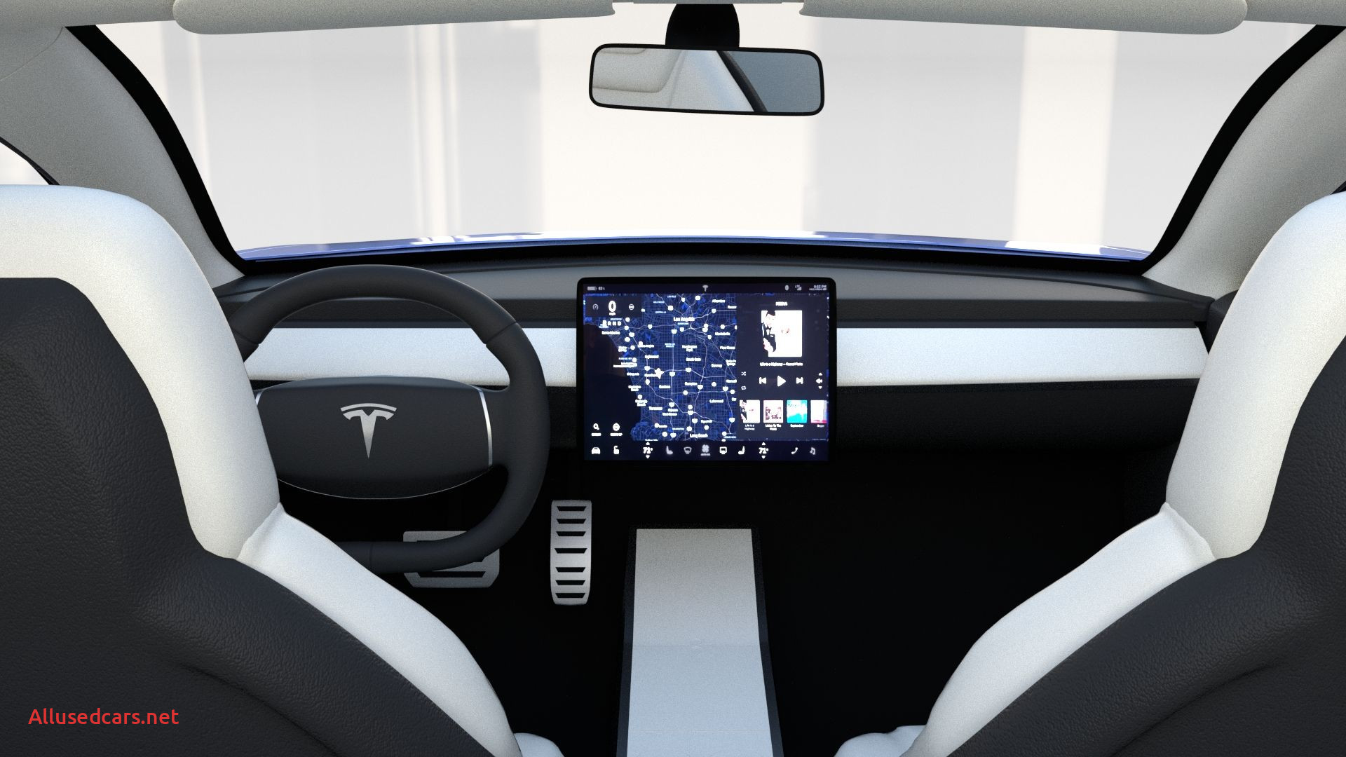 Unique Tesla 3 Interior