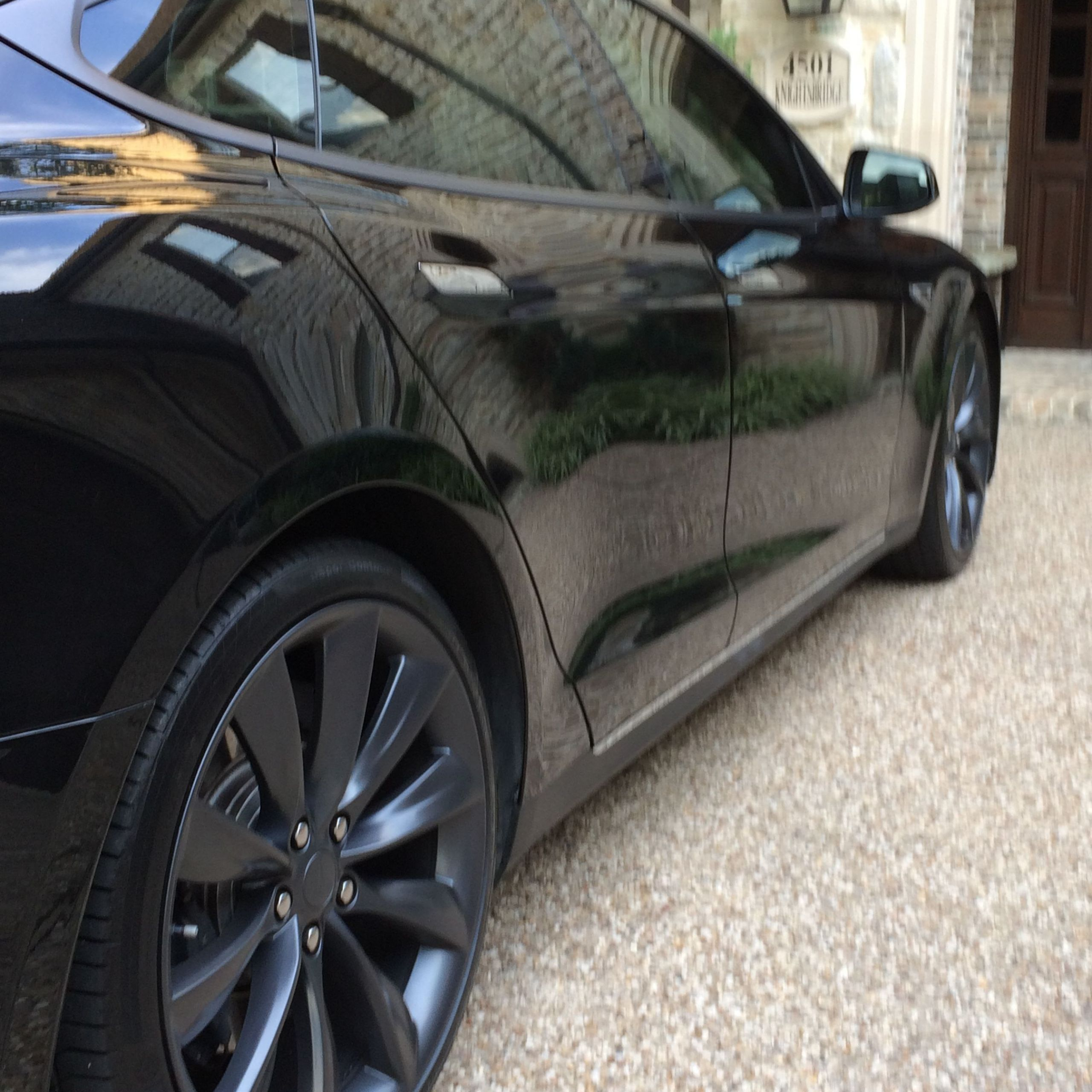 Tesla 75d Awesome New Color On 21s Tesla Model S 2013