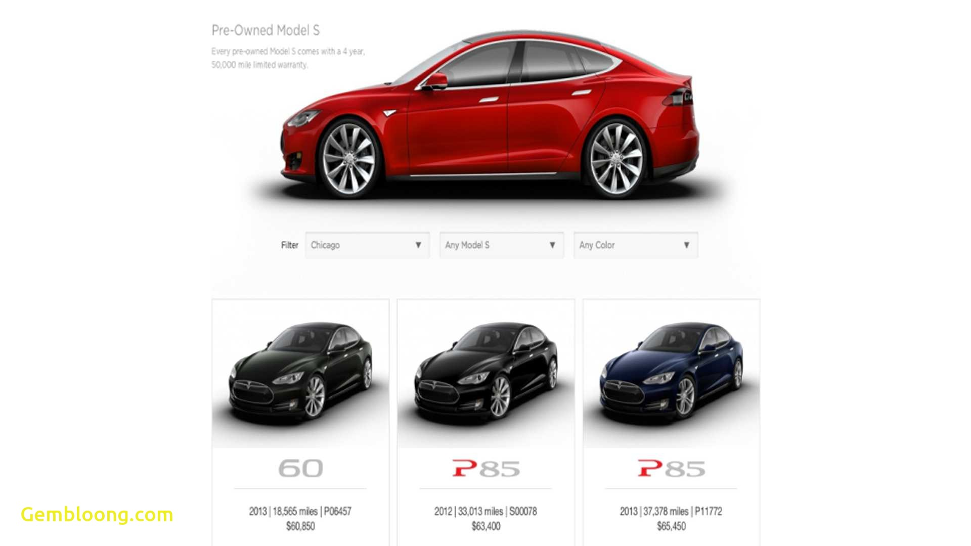 Tesla Cpo Inspirational Tesla Launches Certified Pre Owned Program