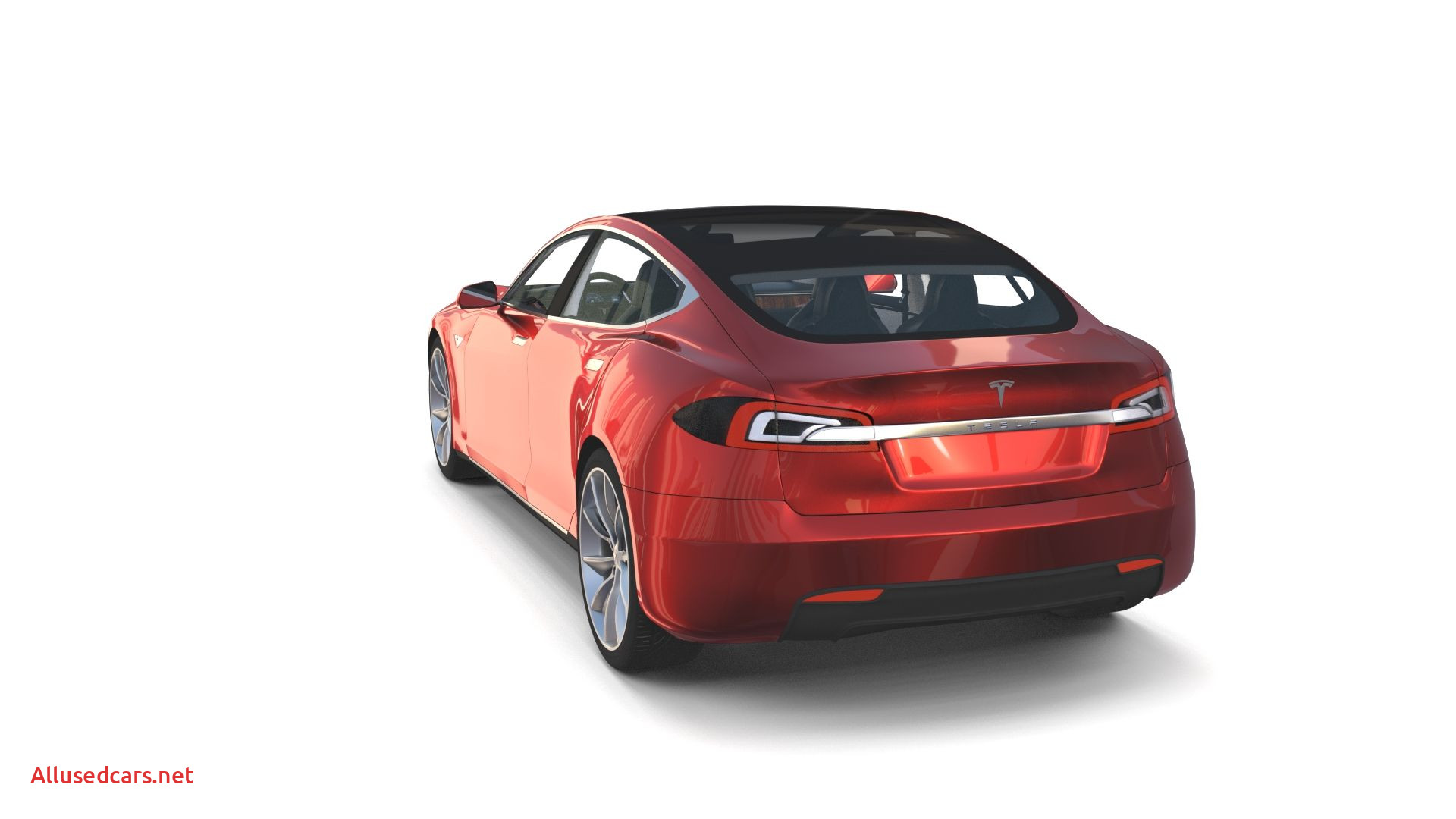 Tesla Engine Fresh Tesla Model S 2016 Red with Interior and Chassis Model