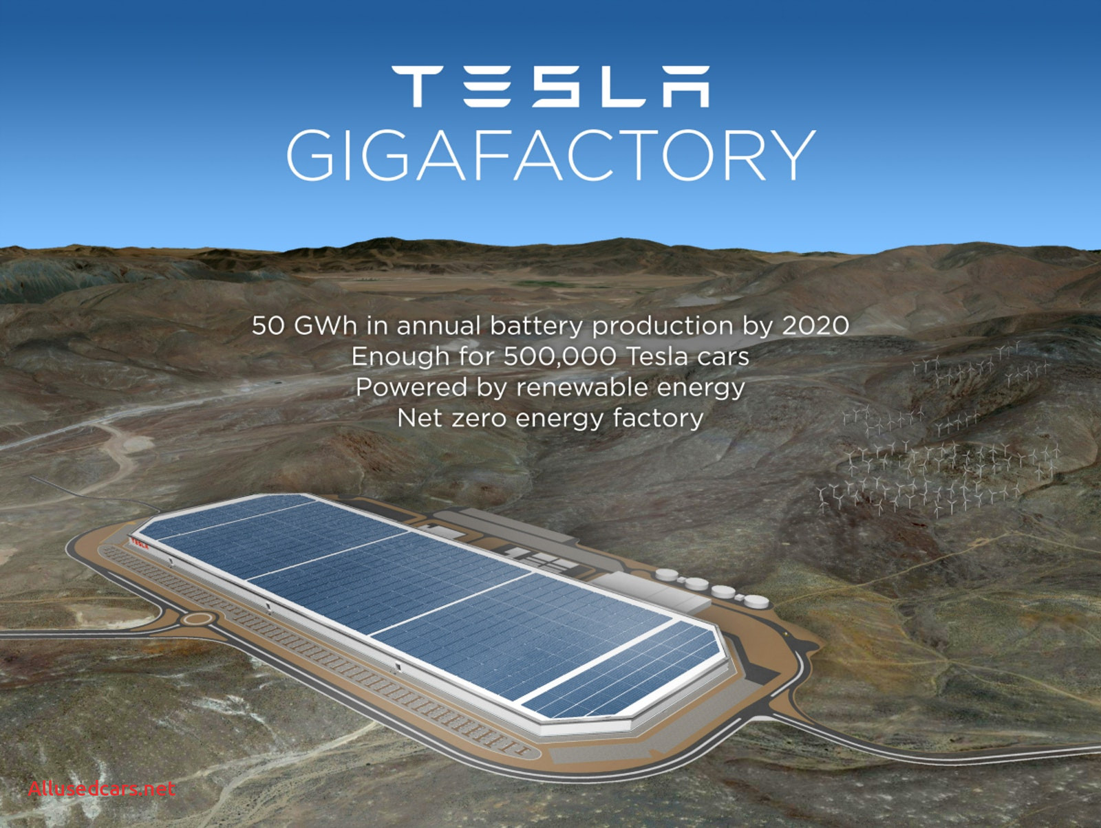 Tesla Factory Awesome Nevada Selected as Official Site for Tesla Battery