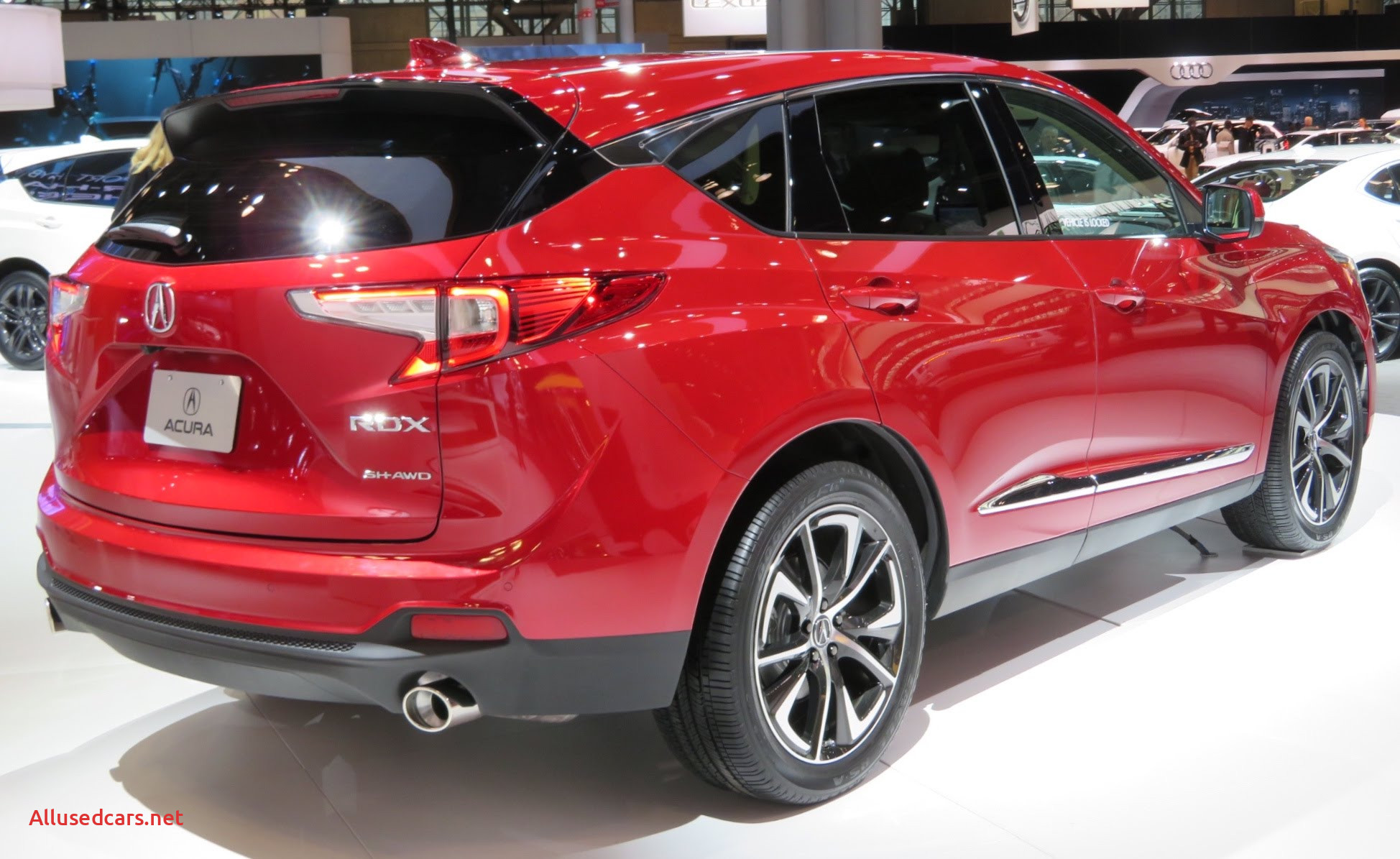 2019 Acura RDX A Spec rear red 4 2 18