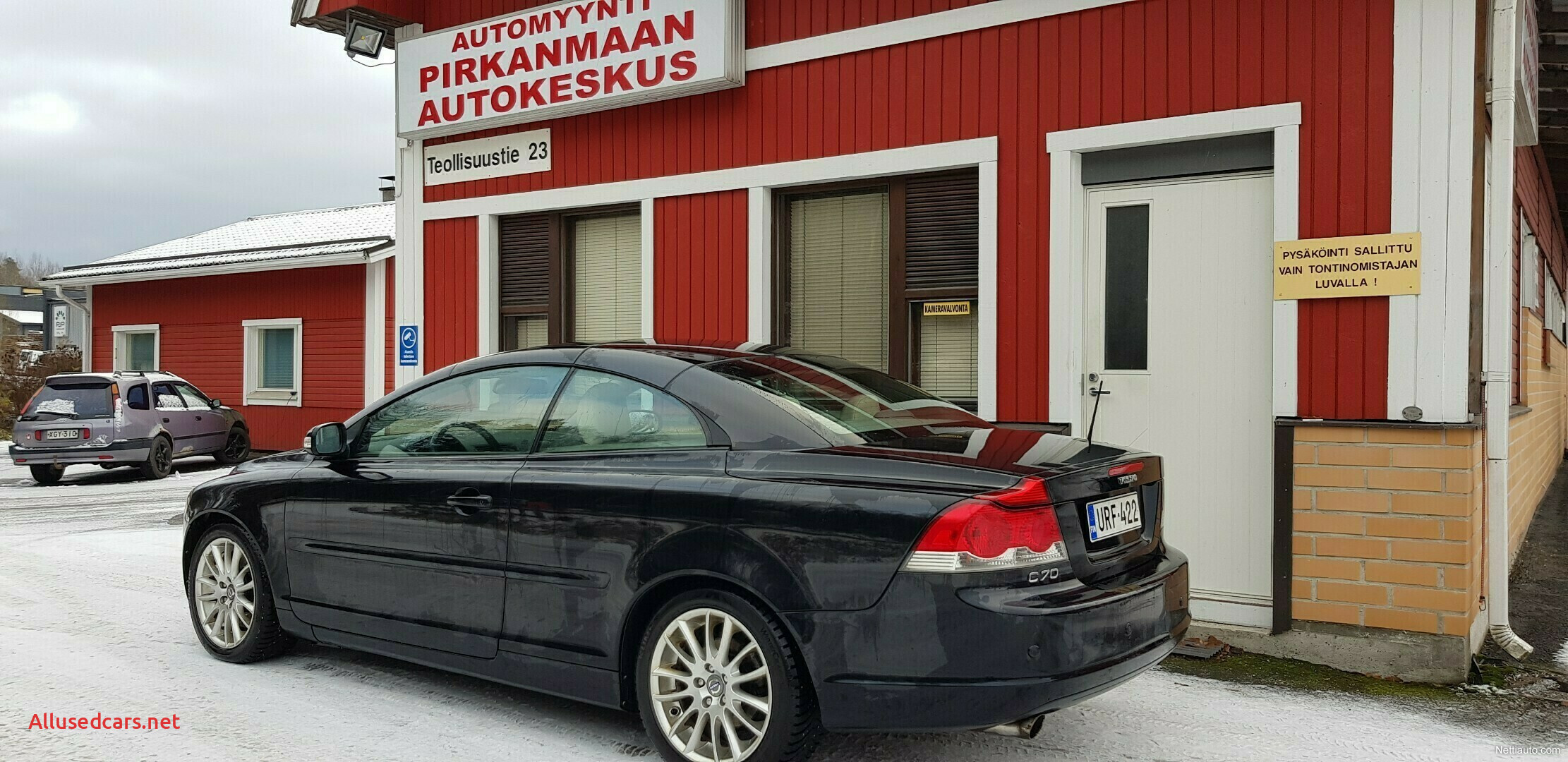 Volvo C70 New Volvo C70 2 0d Kinetic Aut Myyty Convertible 2008