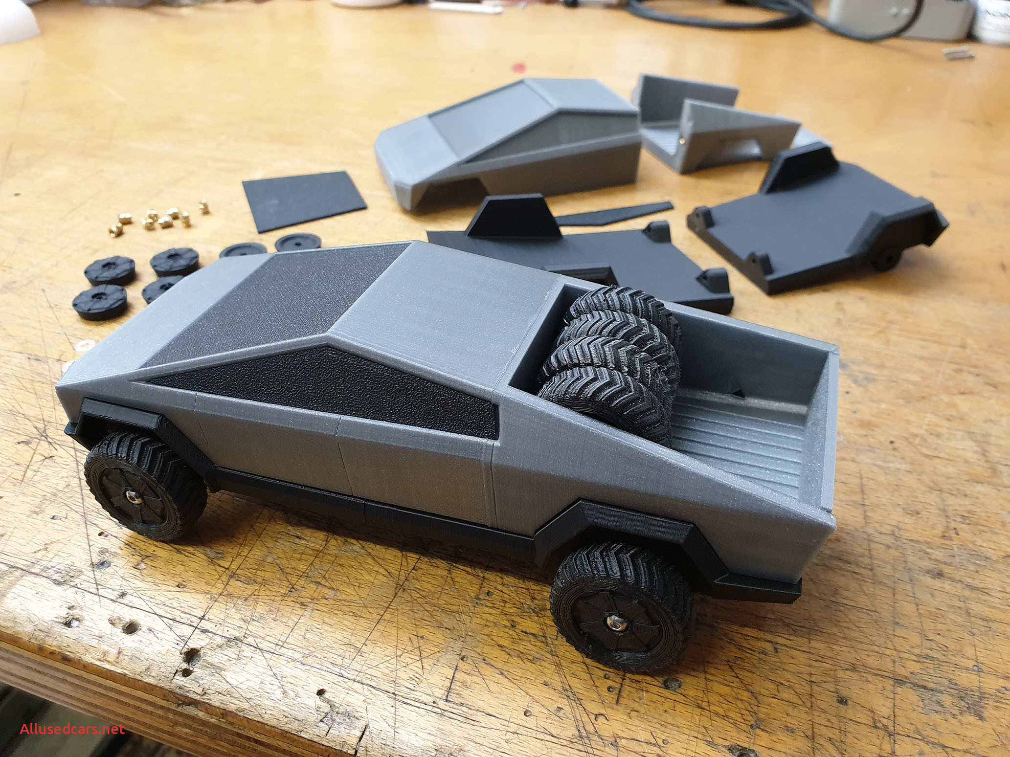 When Tesla Cybertruck Beautiful Tesla Cybertruck by Wov Thingiverse