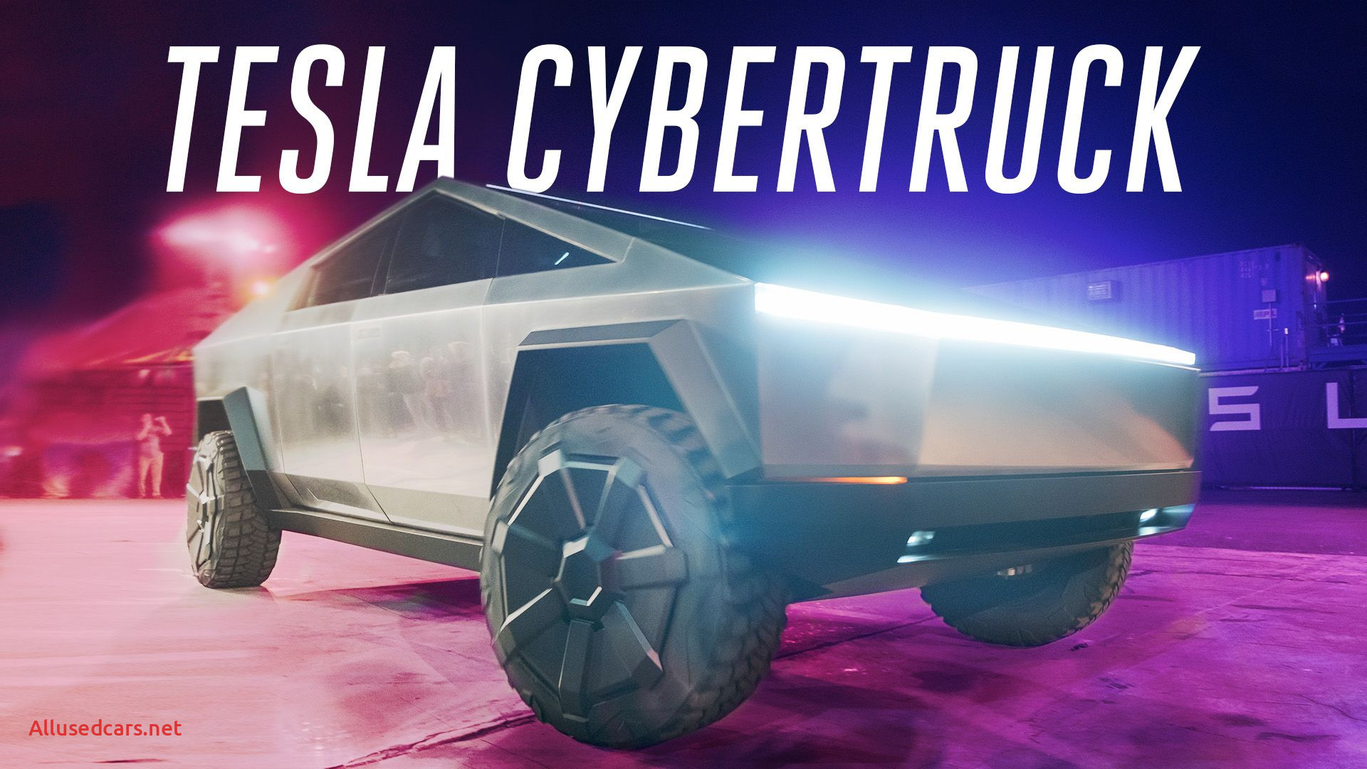 When Tesla Cybertruck Inspirational Tesla Cybertruck Elon Musk Announces Electric Pickup Truck