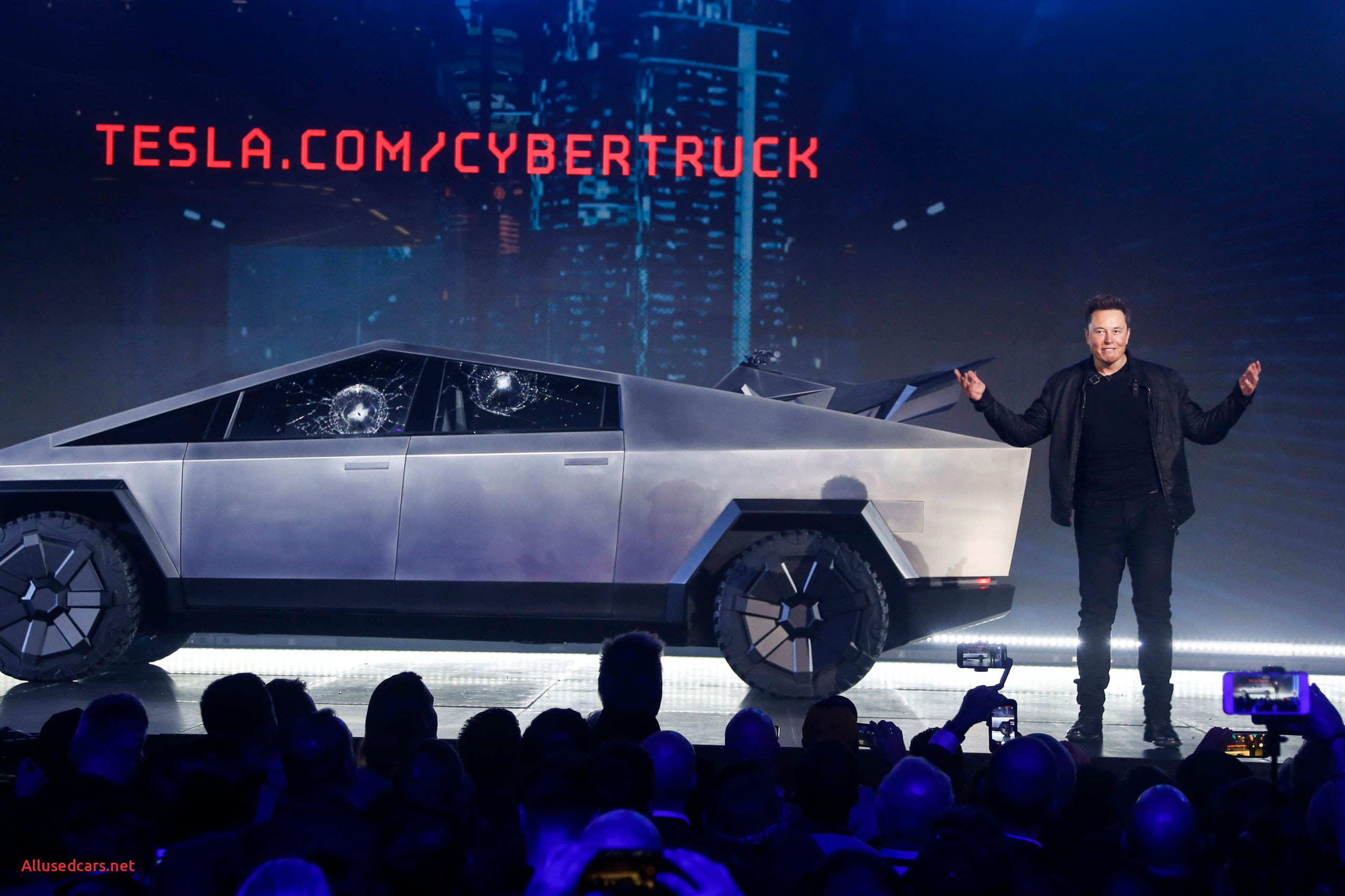Luxury when Tesla Cybertruck