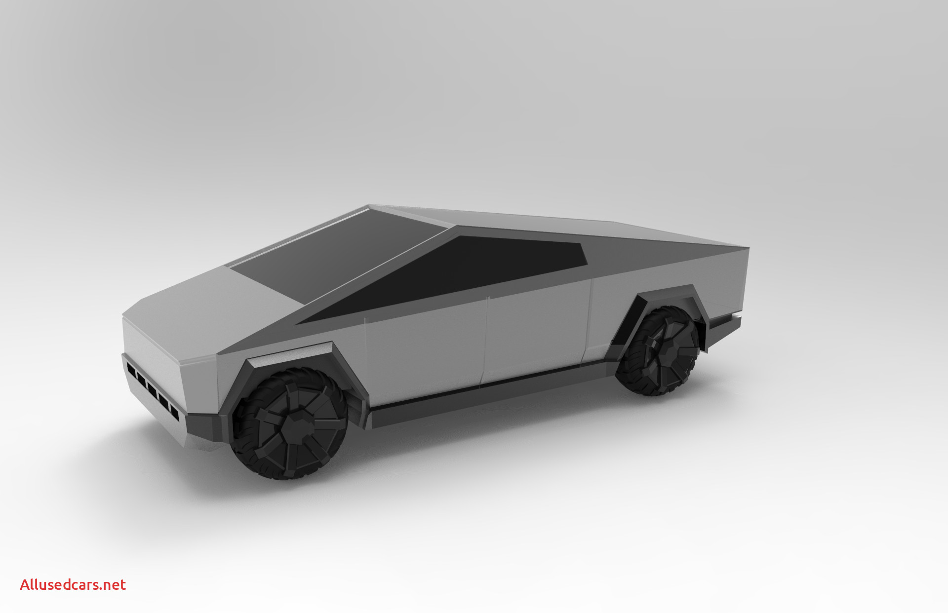 When Tesla Cybertruck New Tesla Cyber Truck Fan Model by Aaskedall Thingiverse