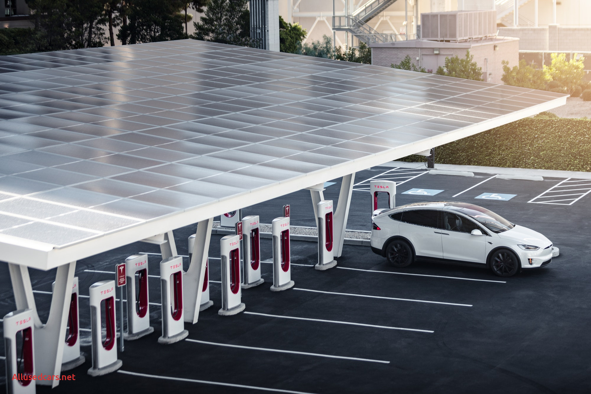 Will Tesla Fail Inspirational Tesla Supercharger V3 Futuristic Station is Final Piece Of