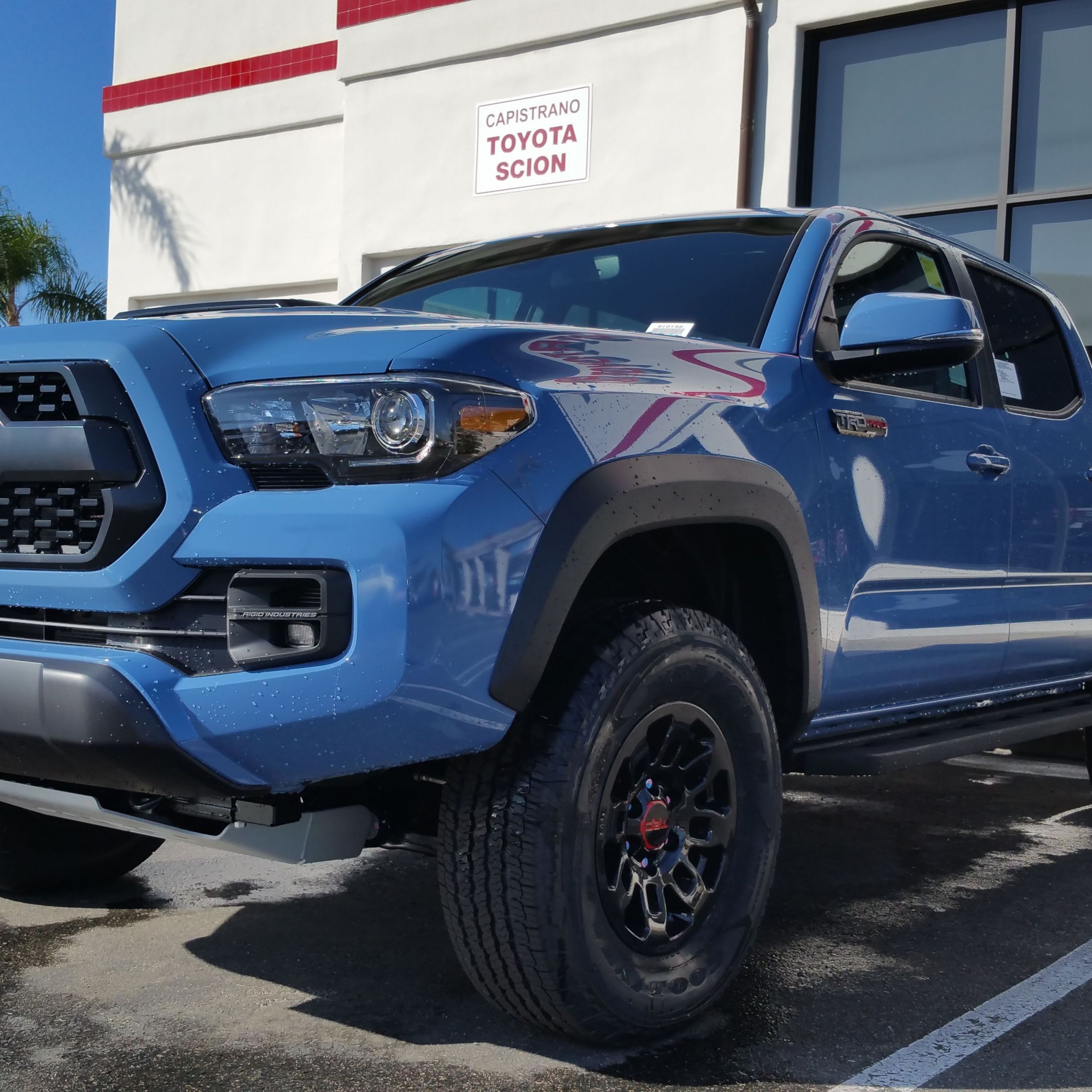 2015 Tacoma Trd Pro Fresh Cavalry Blue Stop by Our Dealership today