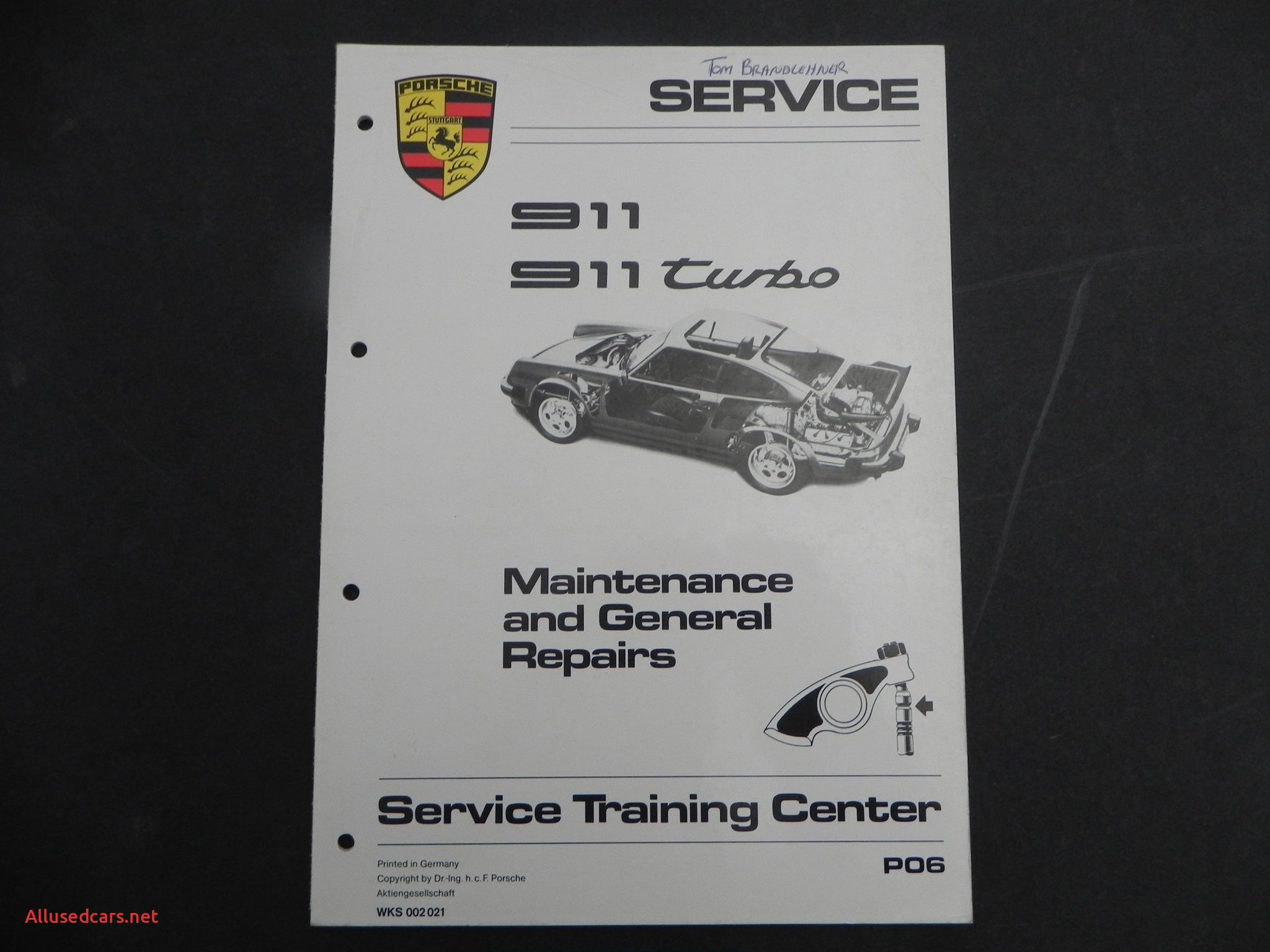 911 Black Edition Beautiful Aase Sales Porsche 911 912 & 930 tools Manuals and Media