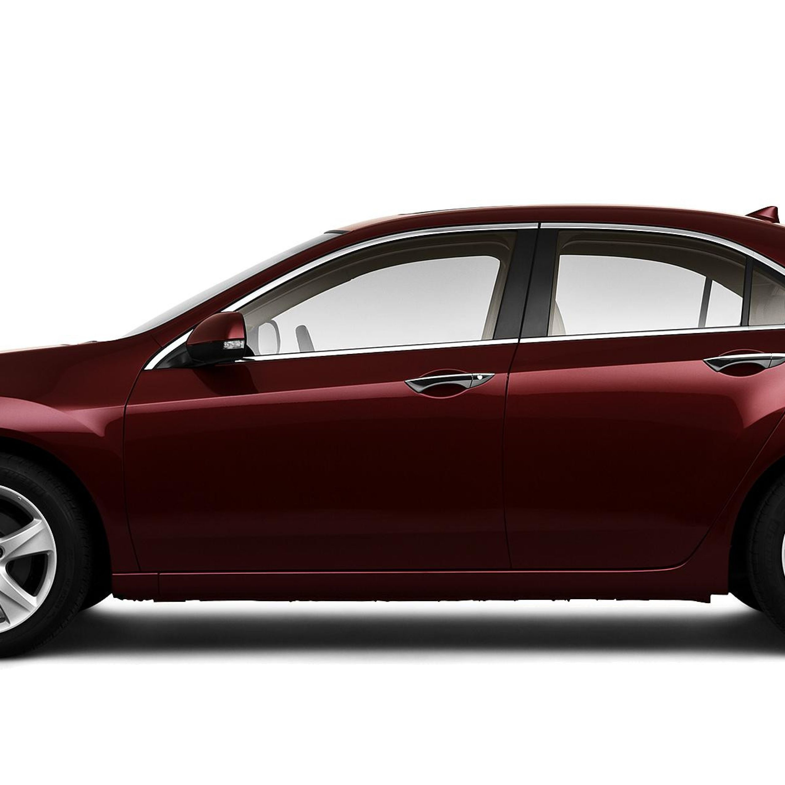 2010 acura tsx 4dr sedan 6m basque red pearl posite large